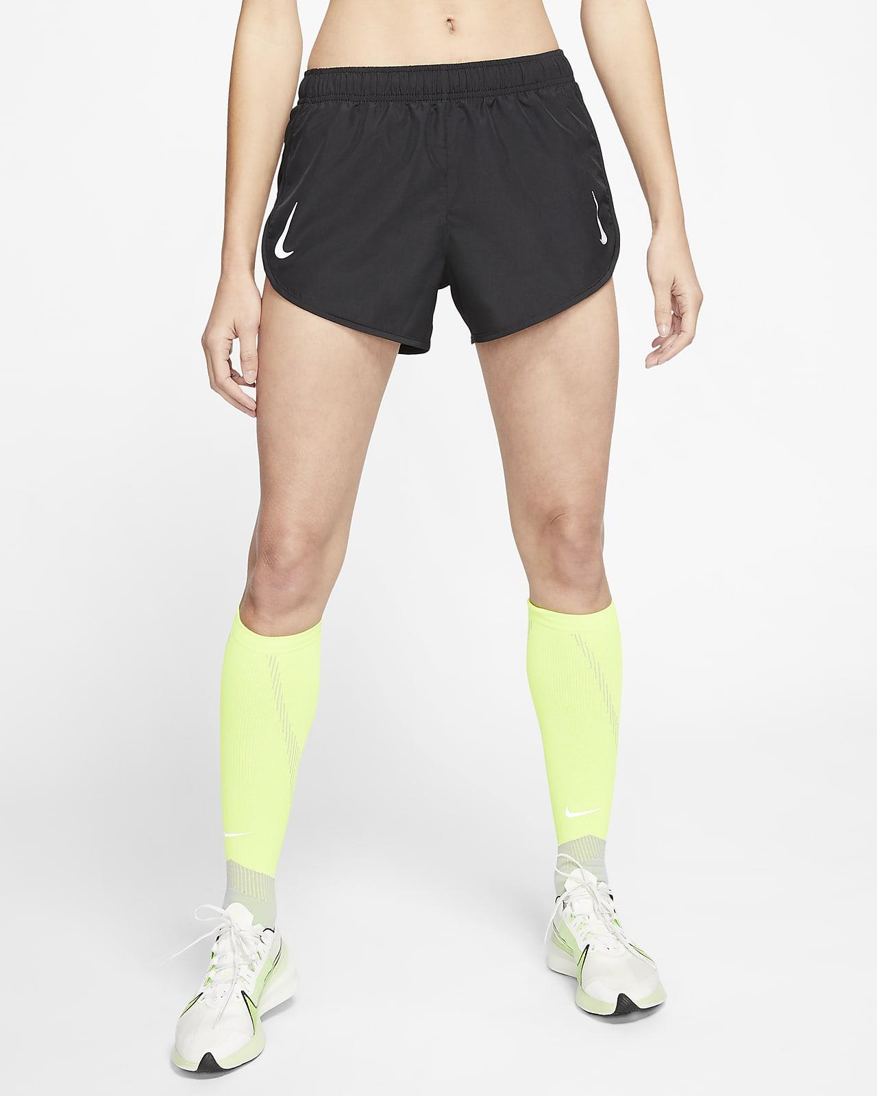 Dámské běžecké kraťasy Nike Tempo vyššího střihu