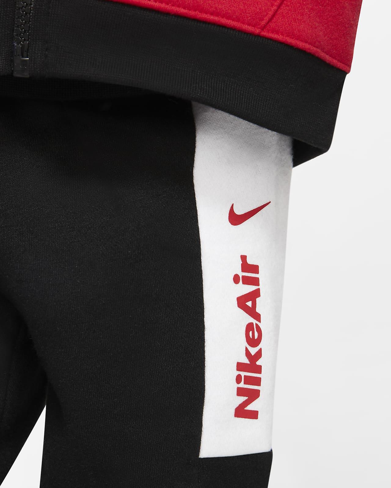 Conjunto De Sudadera Con Capucha Y Pantalones De Entrenamiento Para Bebé Nike Air 12 A 24 Meses Nike Com
