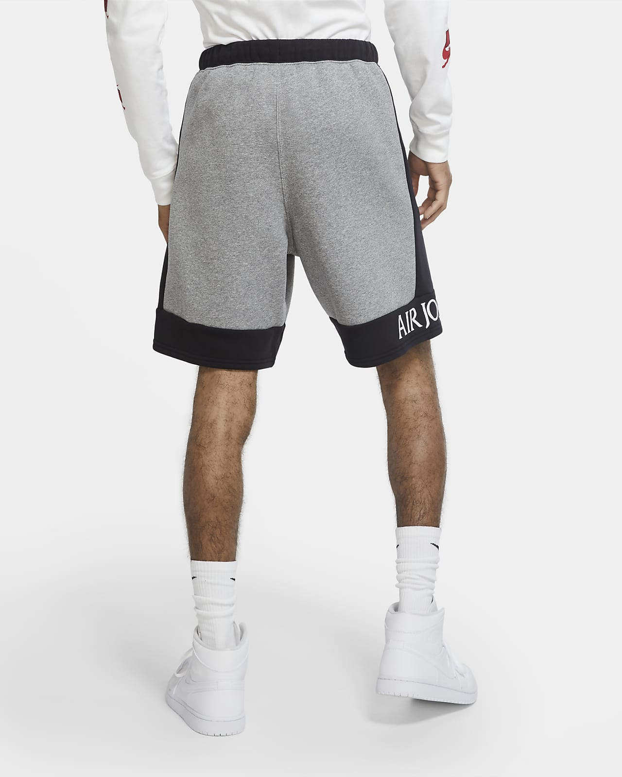 Short en tissu Fleece Jordan Jumpman Classics pour Homme
