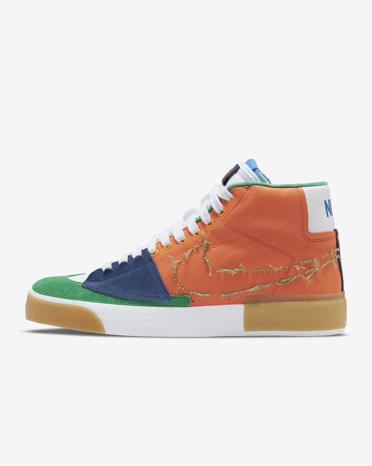Nike SB Zoom Blazer Mid Edge Skateboardschuh