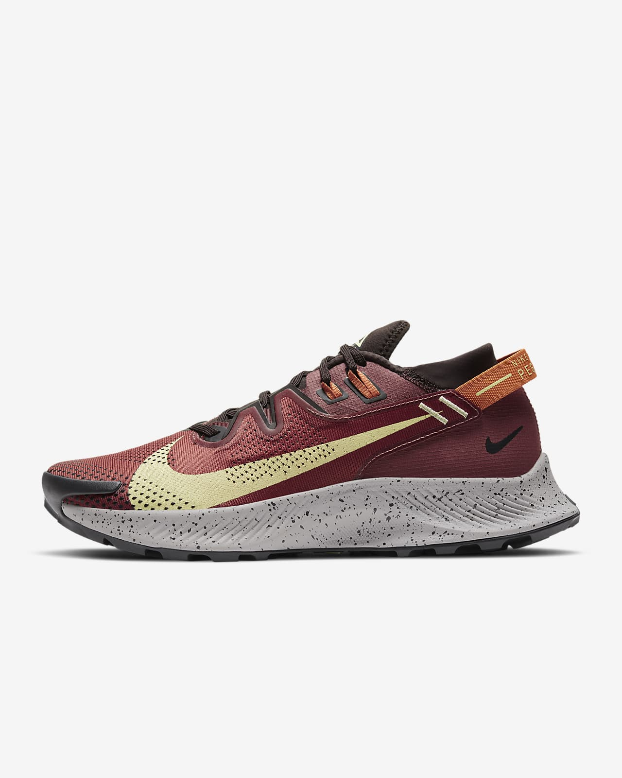 chaussure homme nike marron