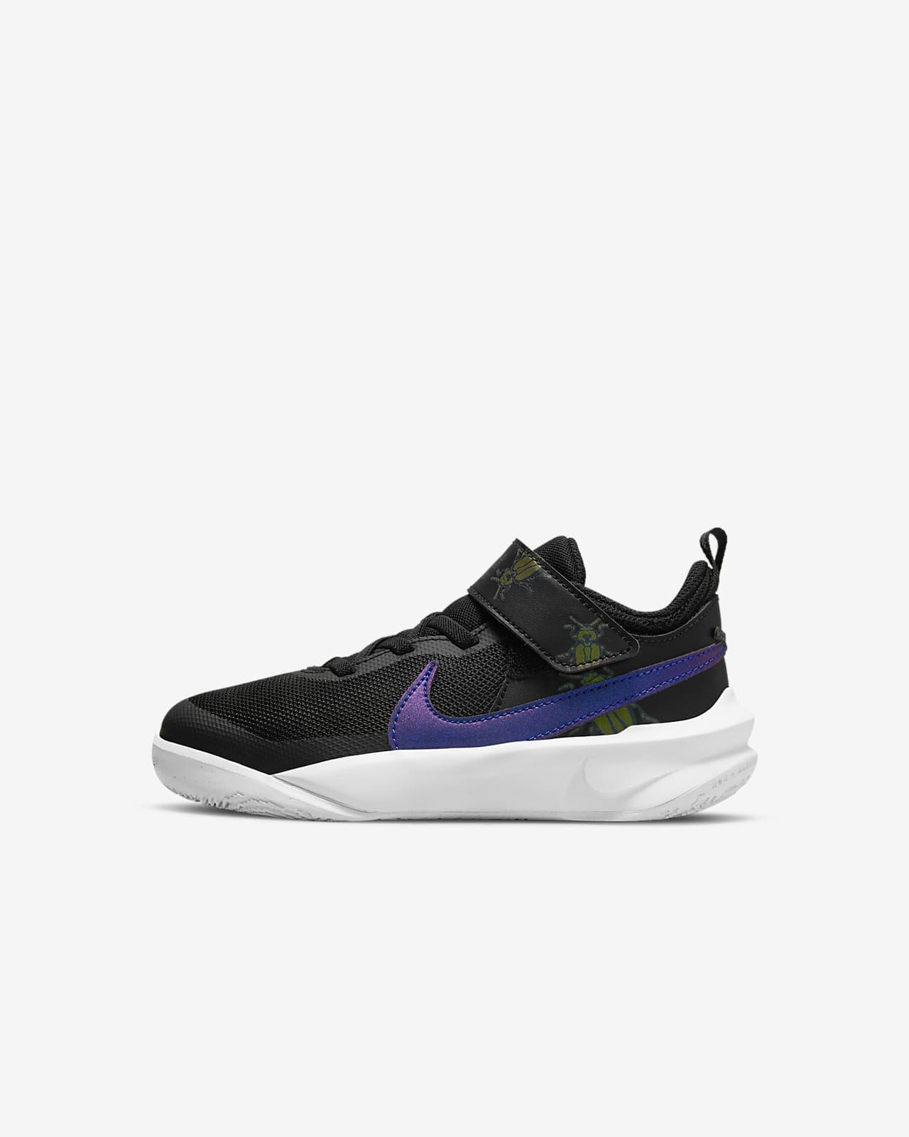 Nike Team Hustle D 10 SE 'Lil Bugs' Younger Kids' Shoe