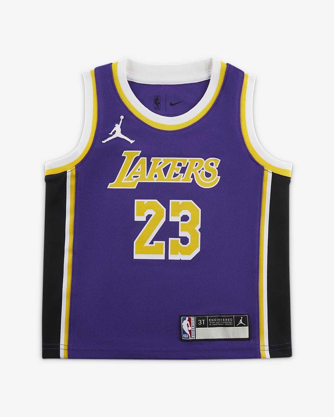 洛杉矶湖人队 Statement Edition Jordan NBA Swingman Jersey 婴童球衣