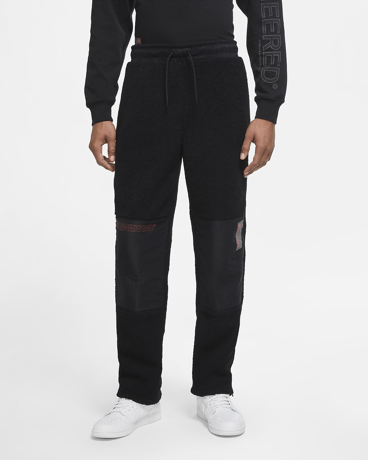 Jordan 23 Engineered Fleece-Hose mit Reißverschluss für Herren