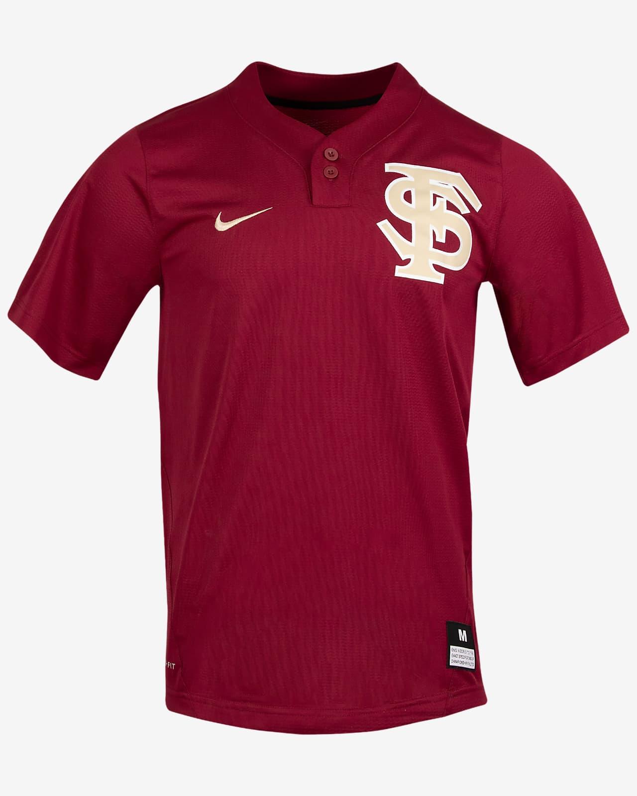 Nike College (Florida State) 2-Button Softball Jersey