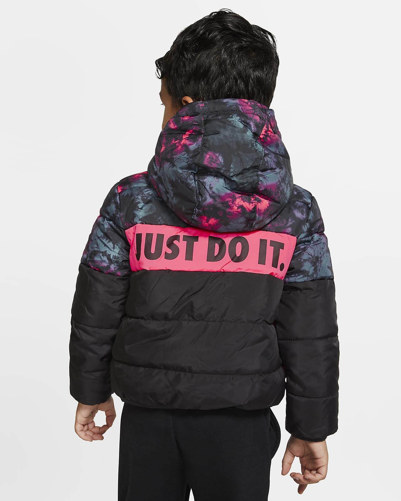 Dunjacka Nike Sportswear med hel dragkedja för små barn