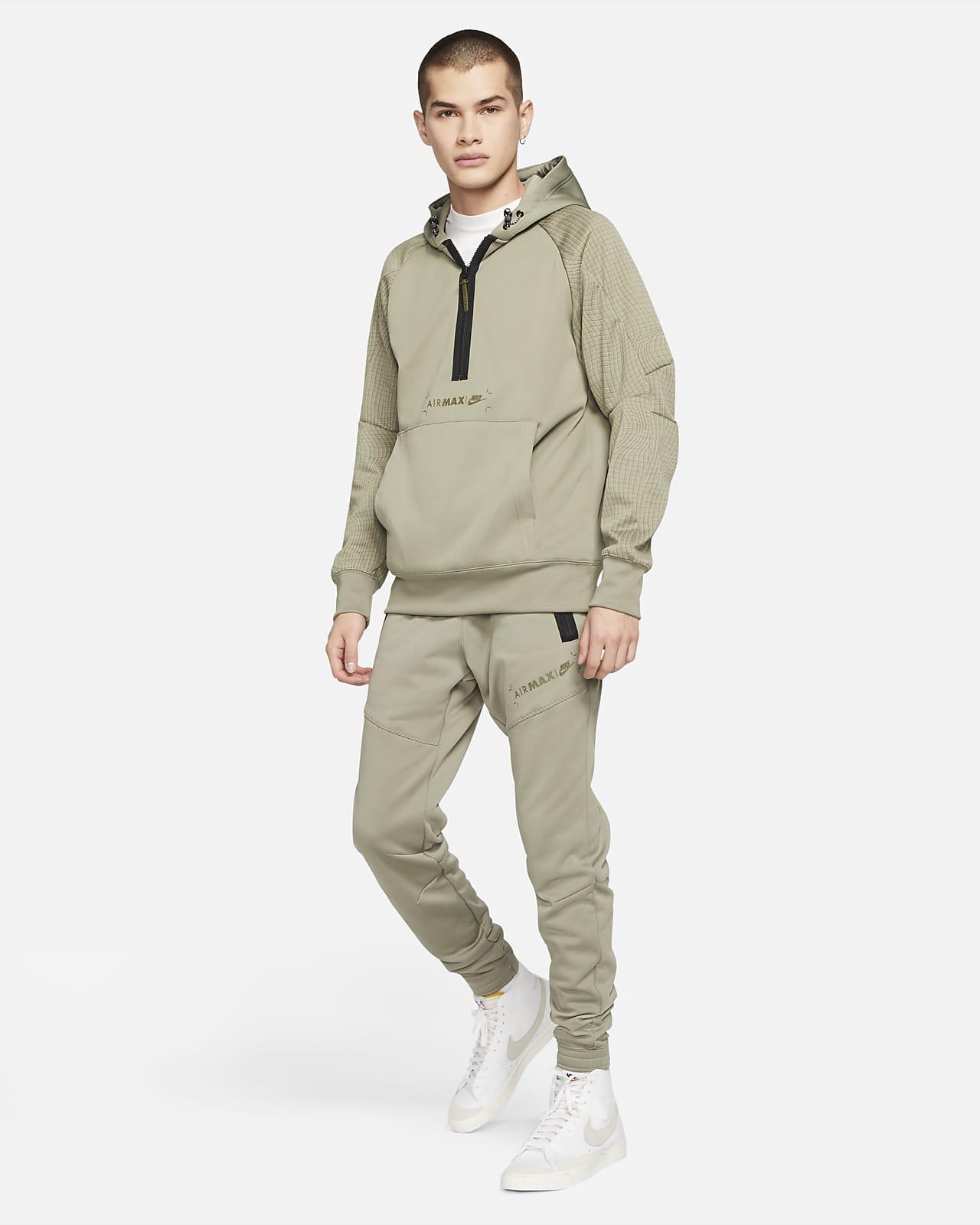 Nike Sportswear Air Max Men's 1/2-Zip Fleece Hoodie. Nike LU