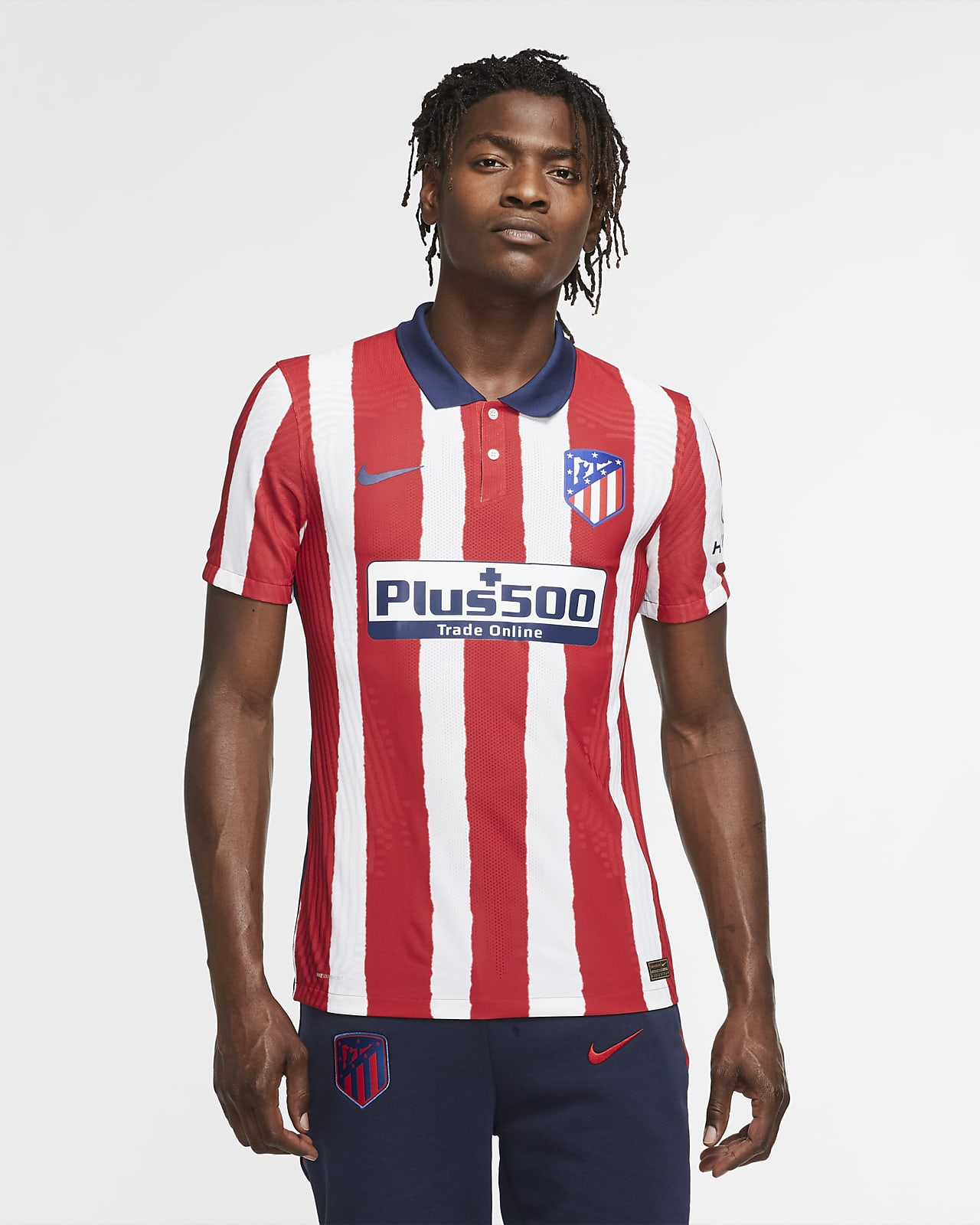 Fotbollströja Atlético de Madrid 2020 Vapor Match (hemmaställ) för män
