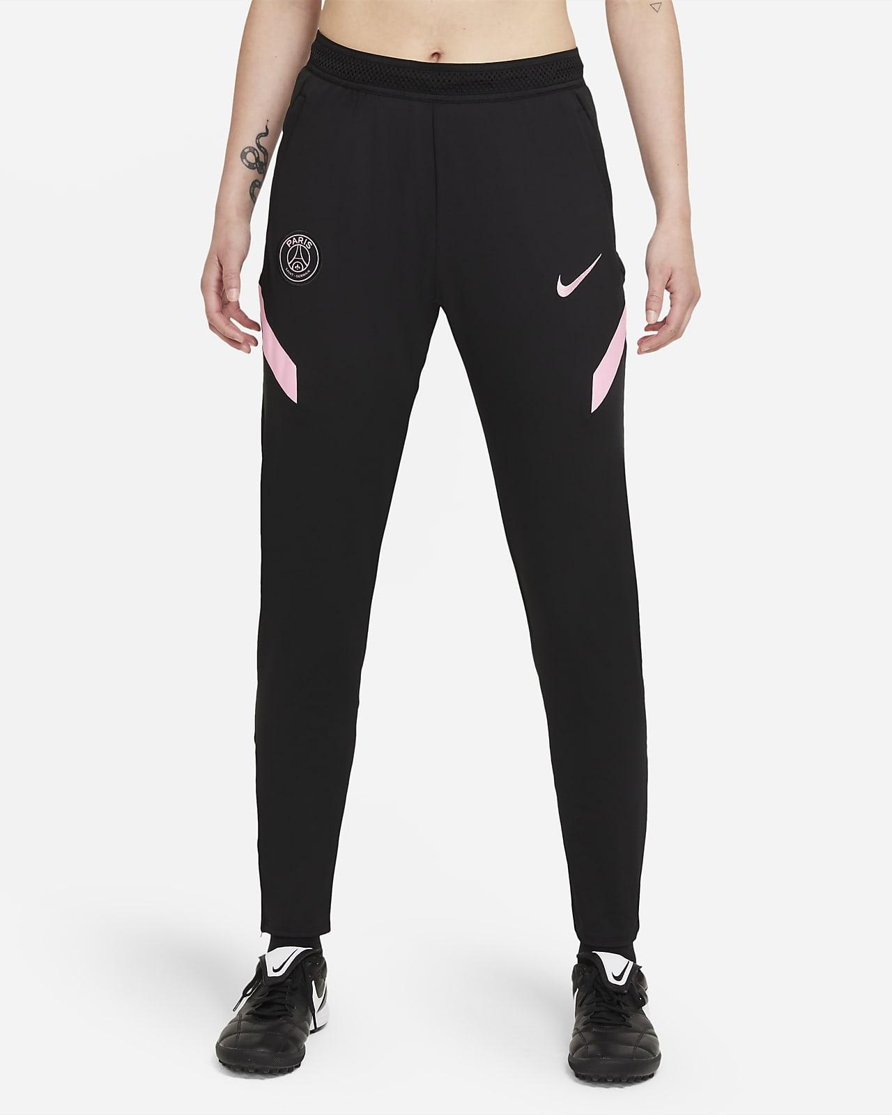 Damskie spodnie piłkarskie Nike Dri-FIT Paris Saint-Germain Strike (wersja wyjazdowa)