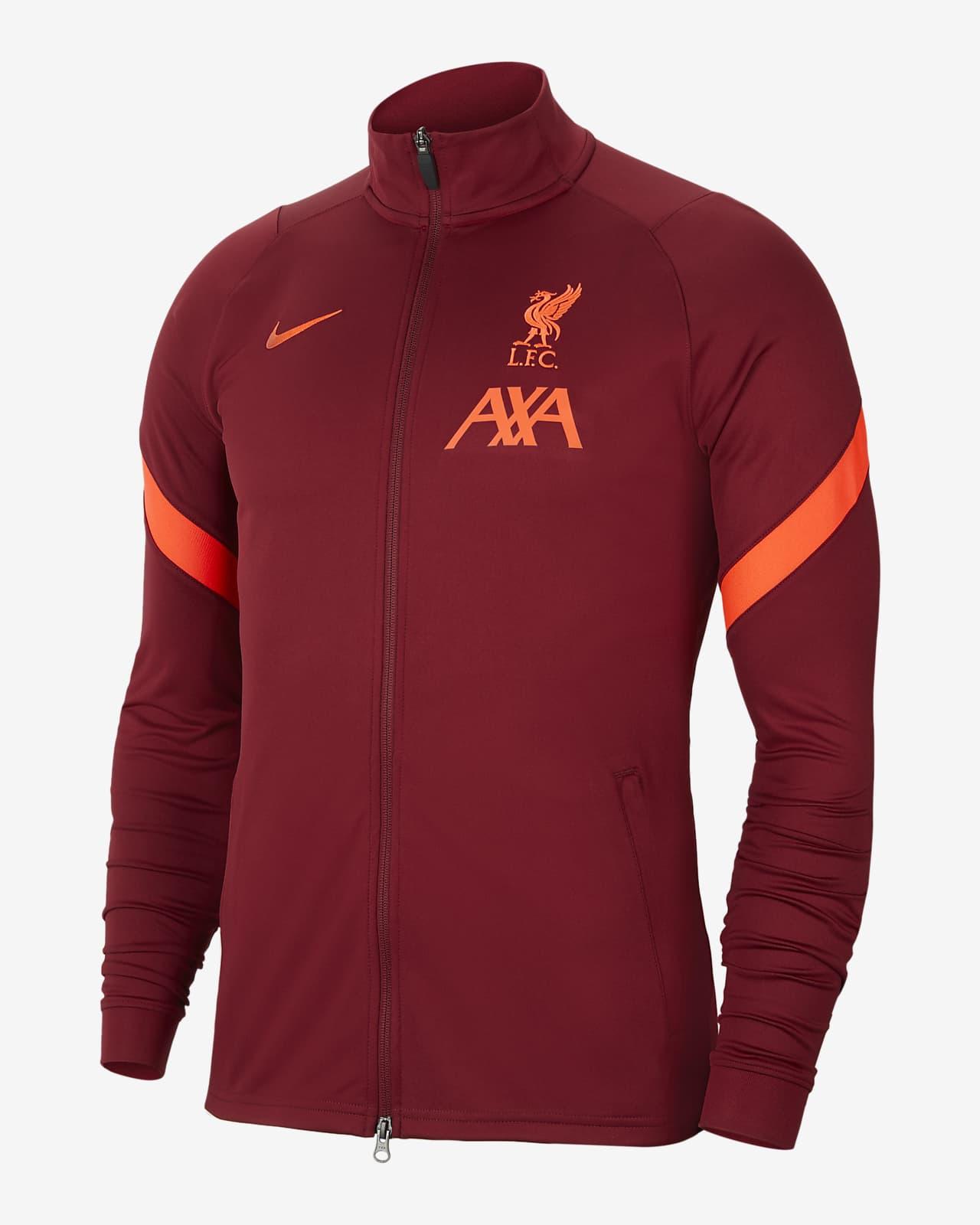 Liverpool FC Strike Strick-Fußball-Track-Jacket für Herren