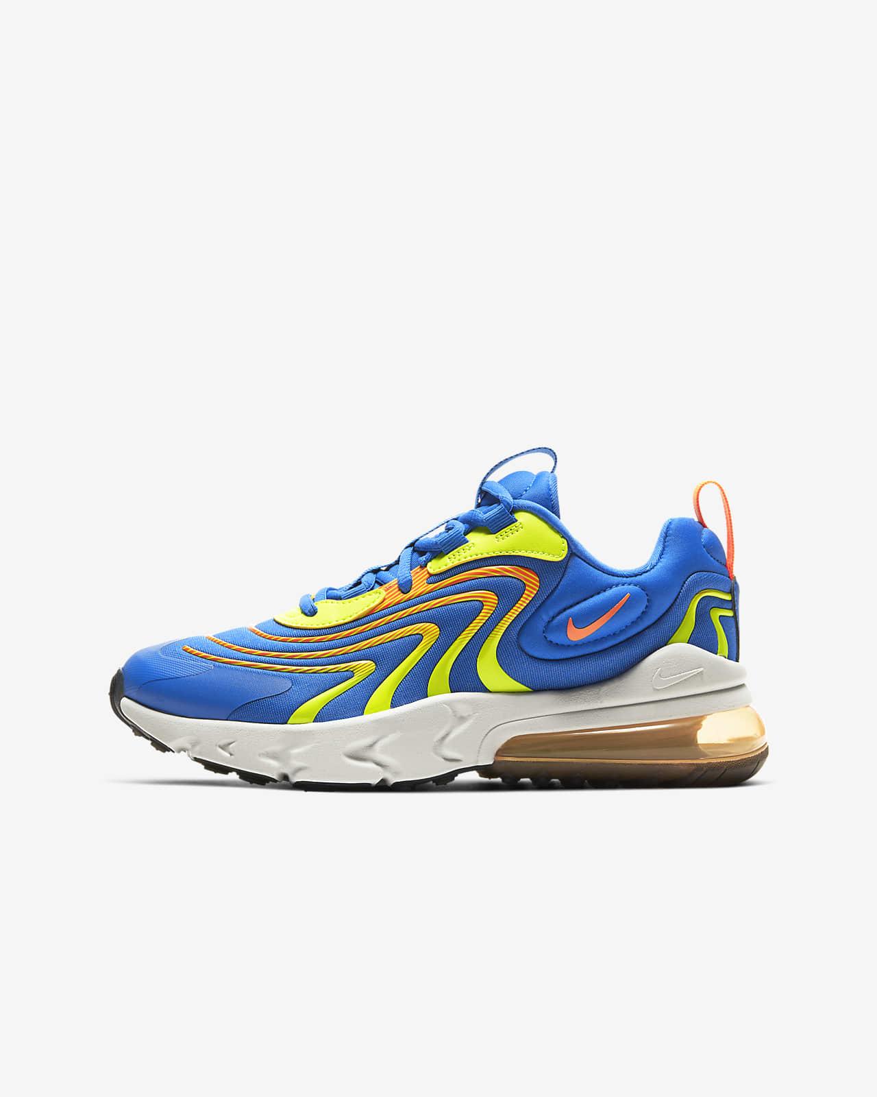 Nike Air Max 270 React ENG Big Kids' Shoe