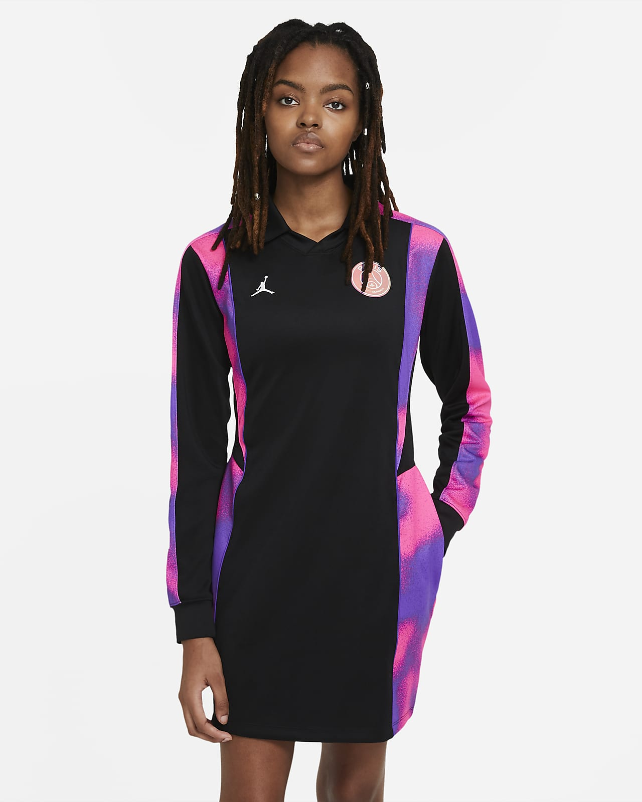 Robe en jersey Paris Saint-Germain pour Femme