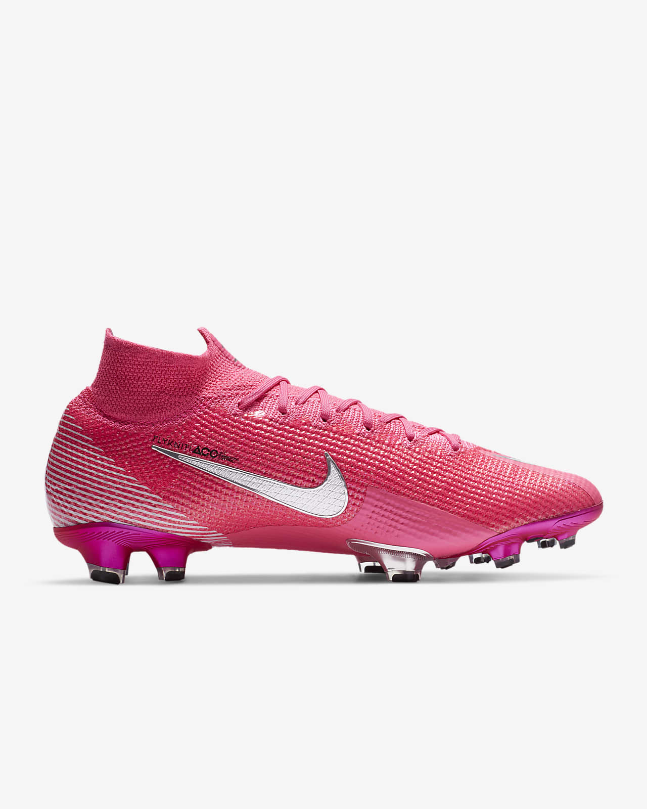 Nike Mercurial Superfly 7 Elite Mbappé Rosa FG Firm-Ground Football Boot