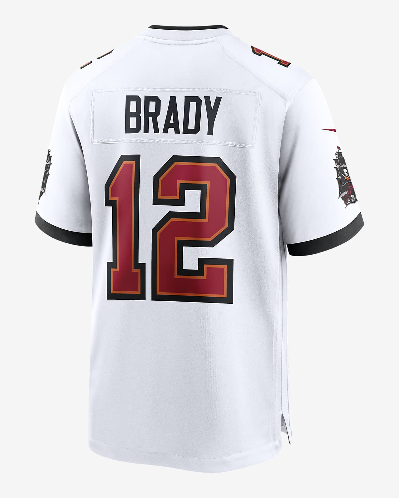 Peladura fuente visual  NFL Tampa Bay Buccaneers (Tom Brady) Men's Game Jersey. Nike.com