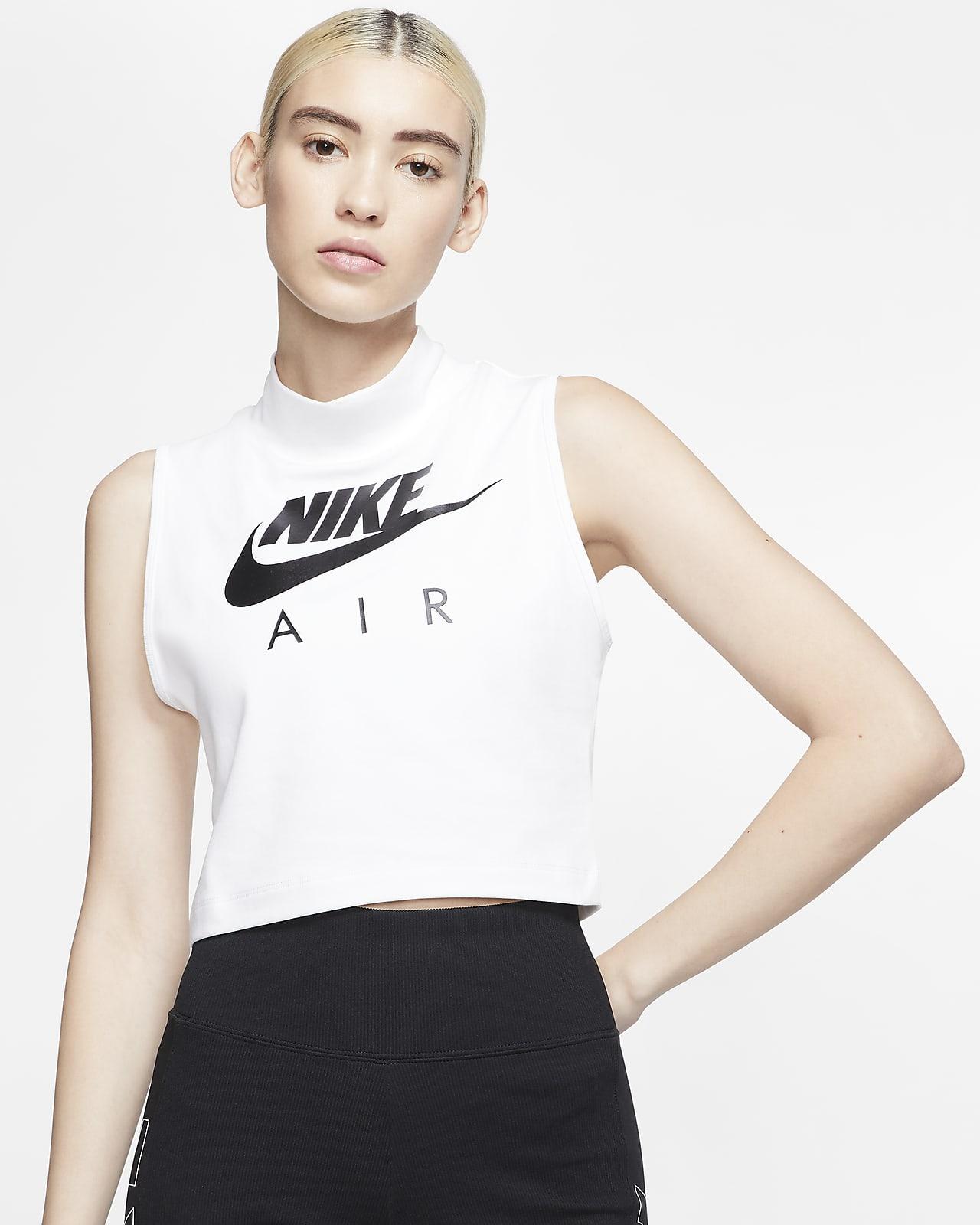 Débardeur à col montant Nike Air pour Femme