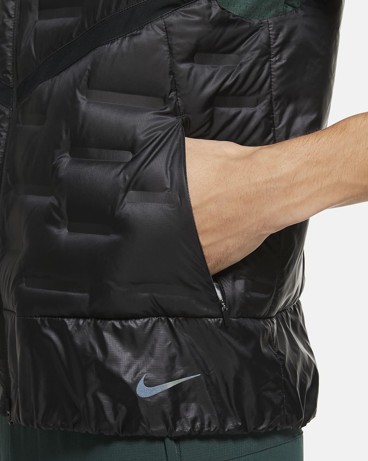 condón Muslo superficie  Chaleco de running para hombre Nike AeroLoft. Nike.com