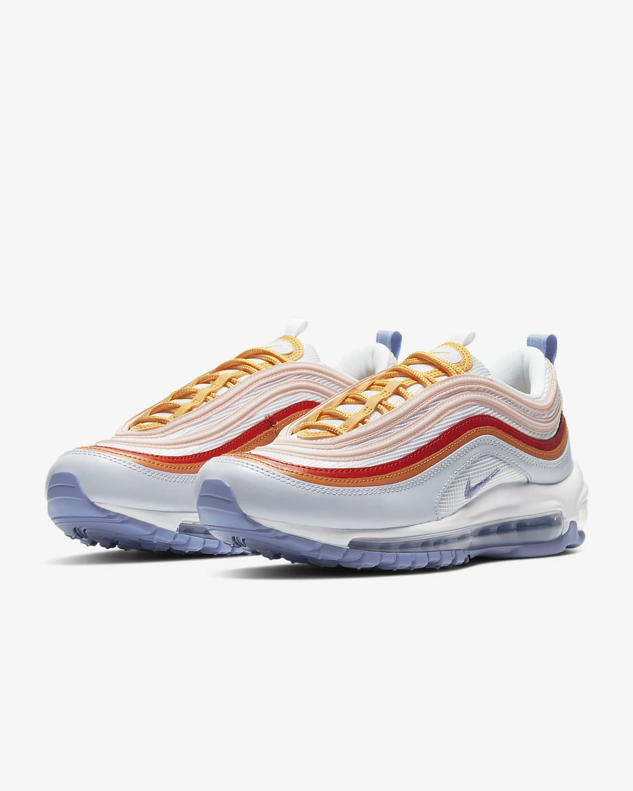 air max 97 light blue and white
