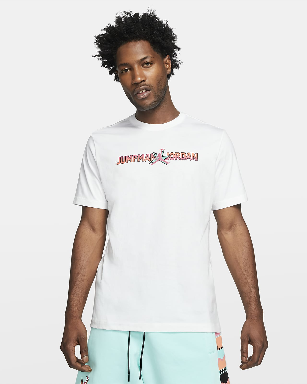 Tee-shirt à manches courtes et motifs Jordan AJ11 pour Homme