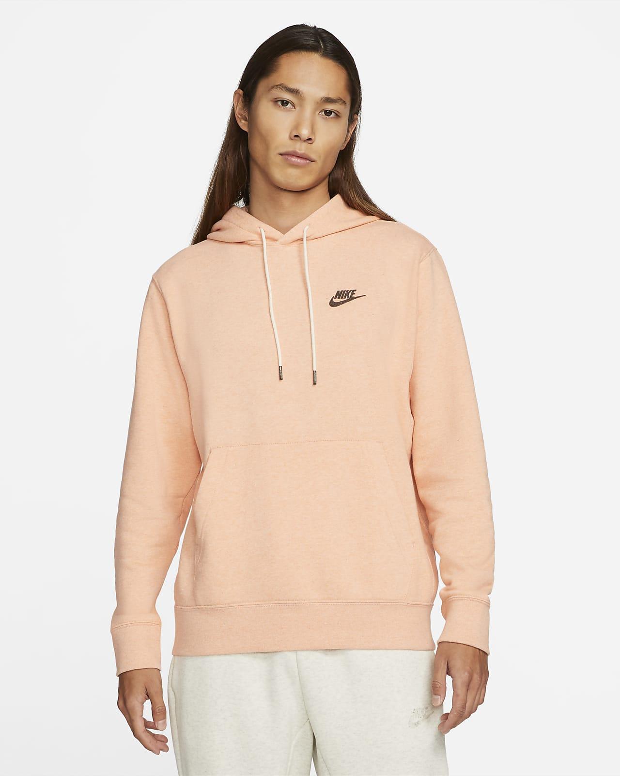 เสื้อมีฮู้ดผู้ชายแบบสวม Nike Sportswear