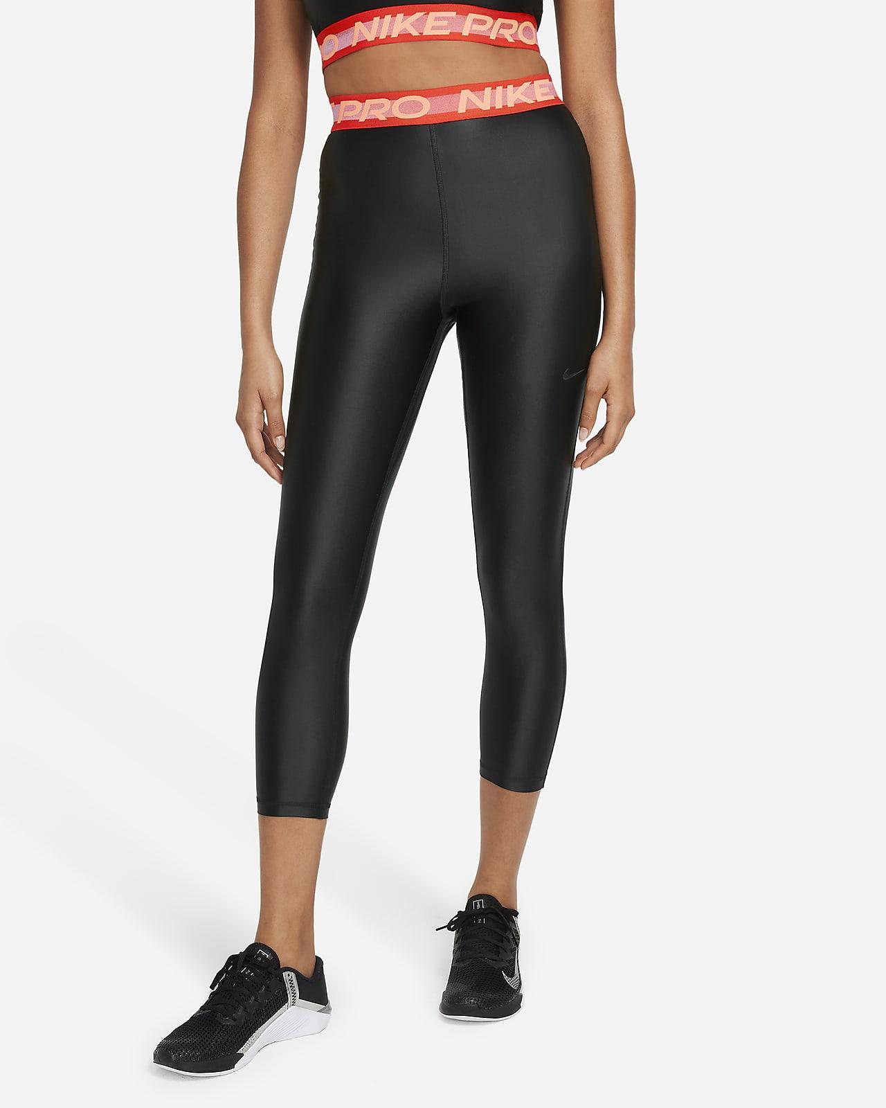 Nike Pro 7/8-Leggings mit hohem Bund für Damen