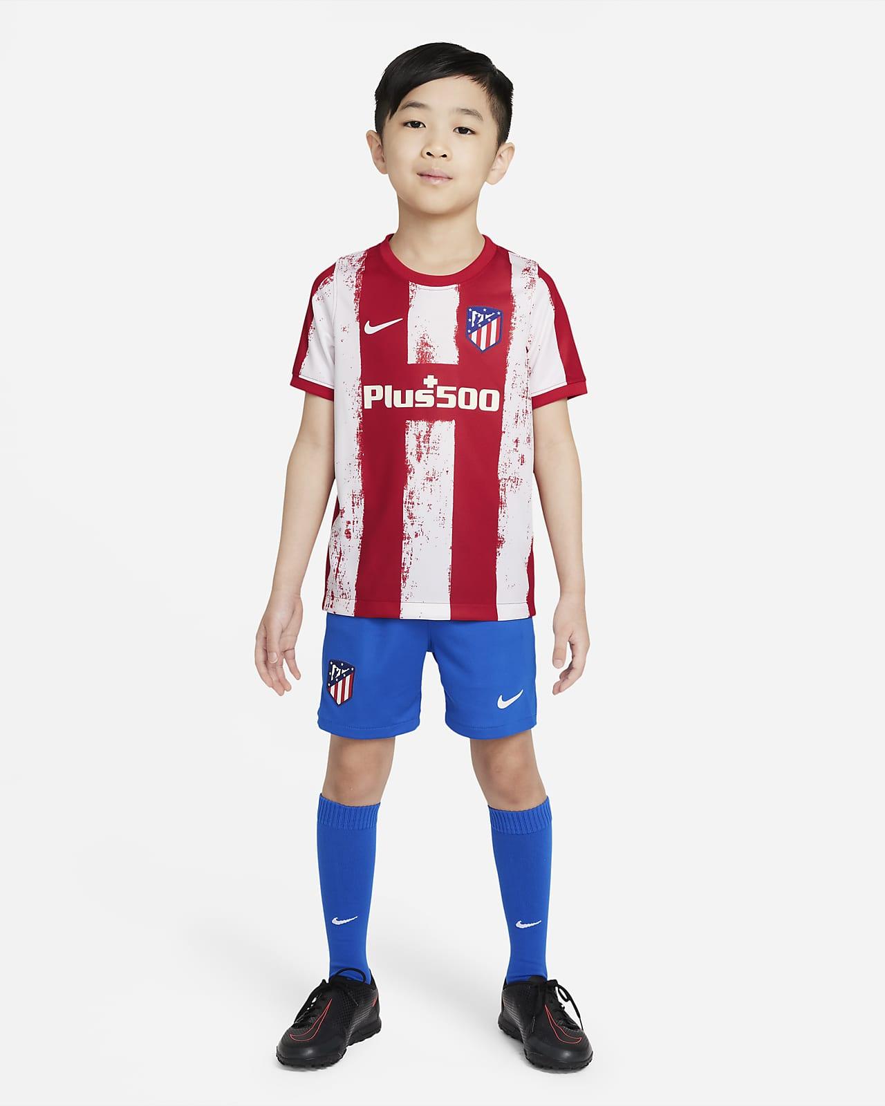 Divisa da calcio Atlético Madrid 2021/22 per bambini - Home