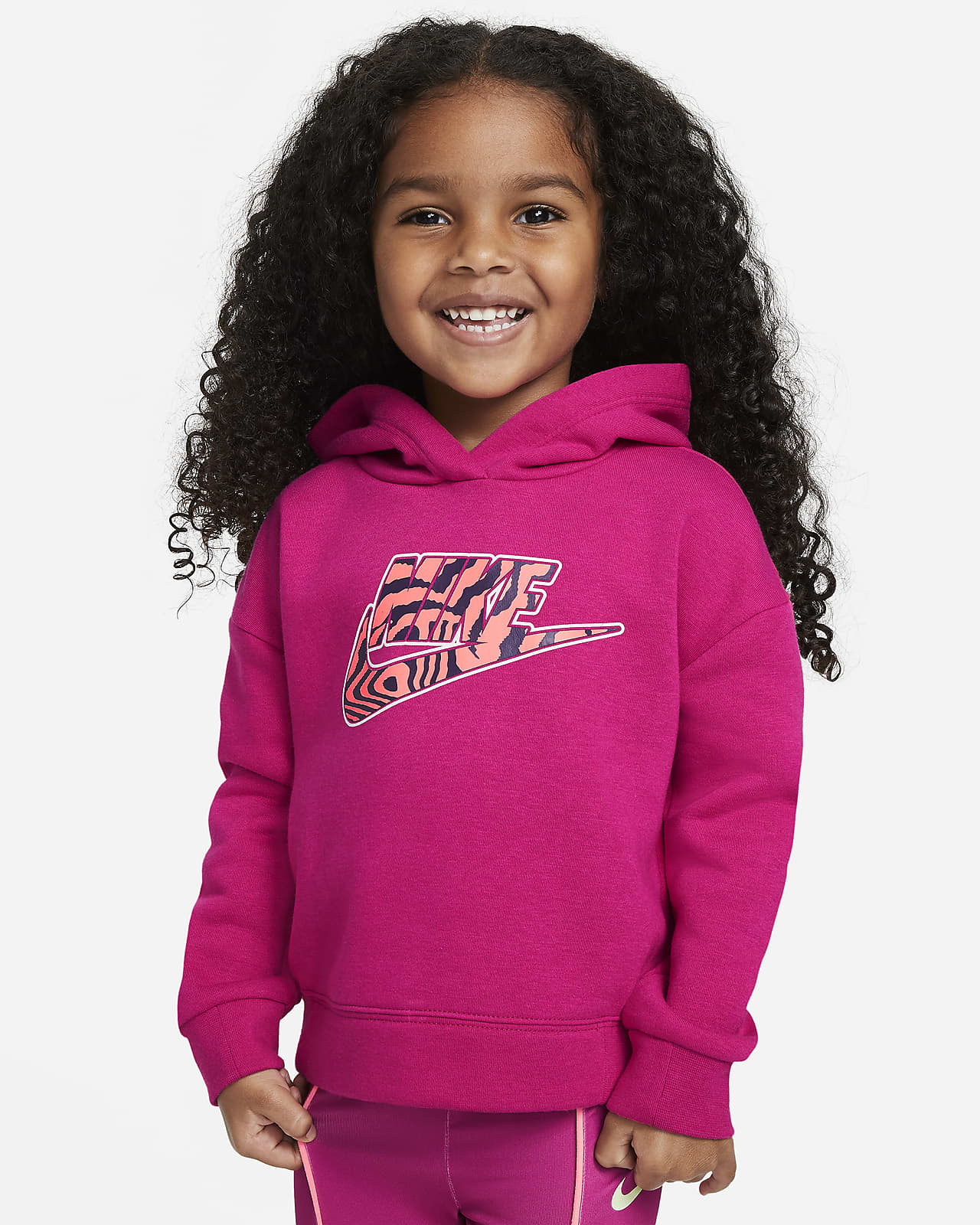 Sudadera con capucha sin cierre infantil Nike