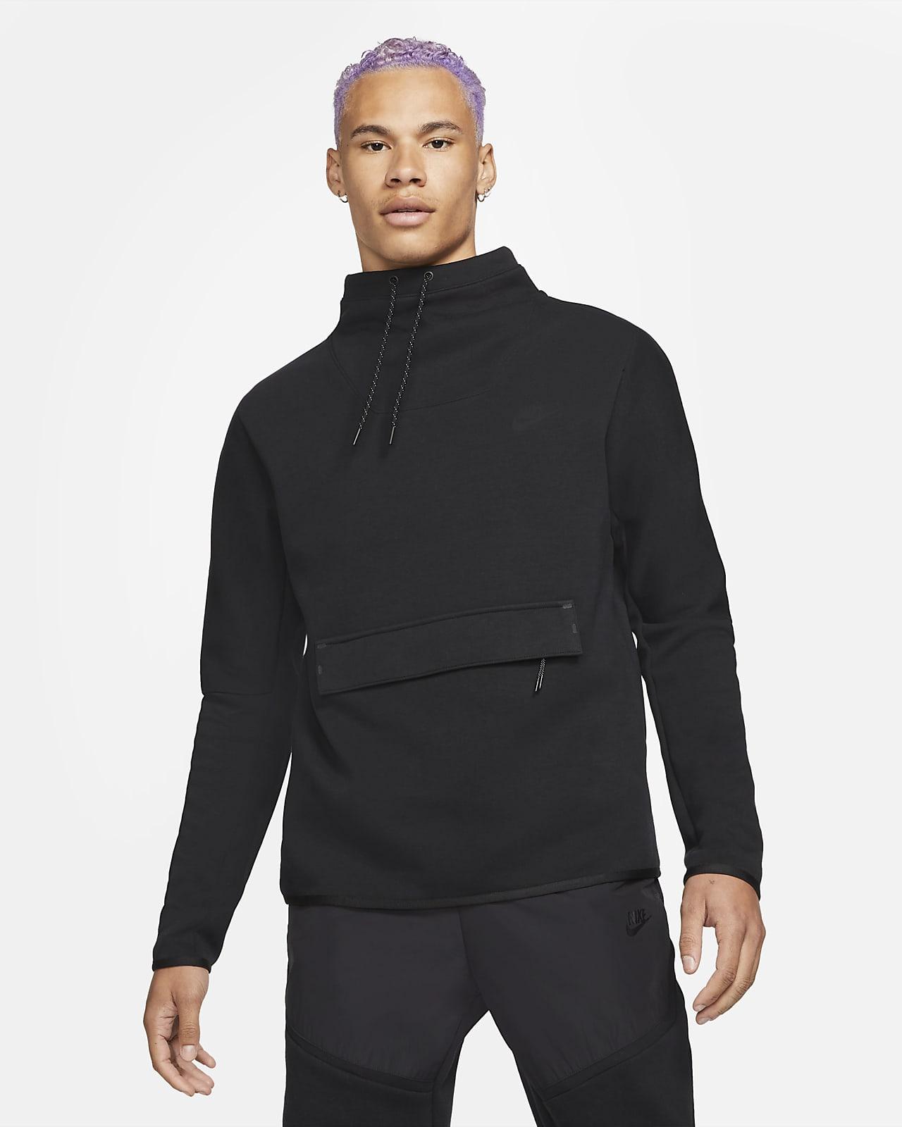 Nike Sportswear Tech Fleece Langarm-Oberteil mit Stehkragen für Herren