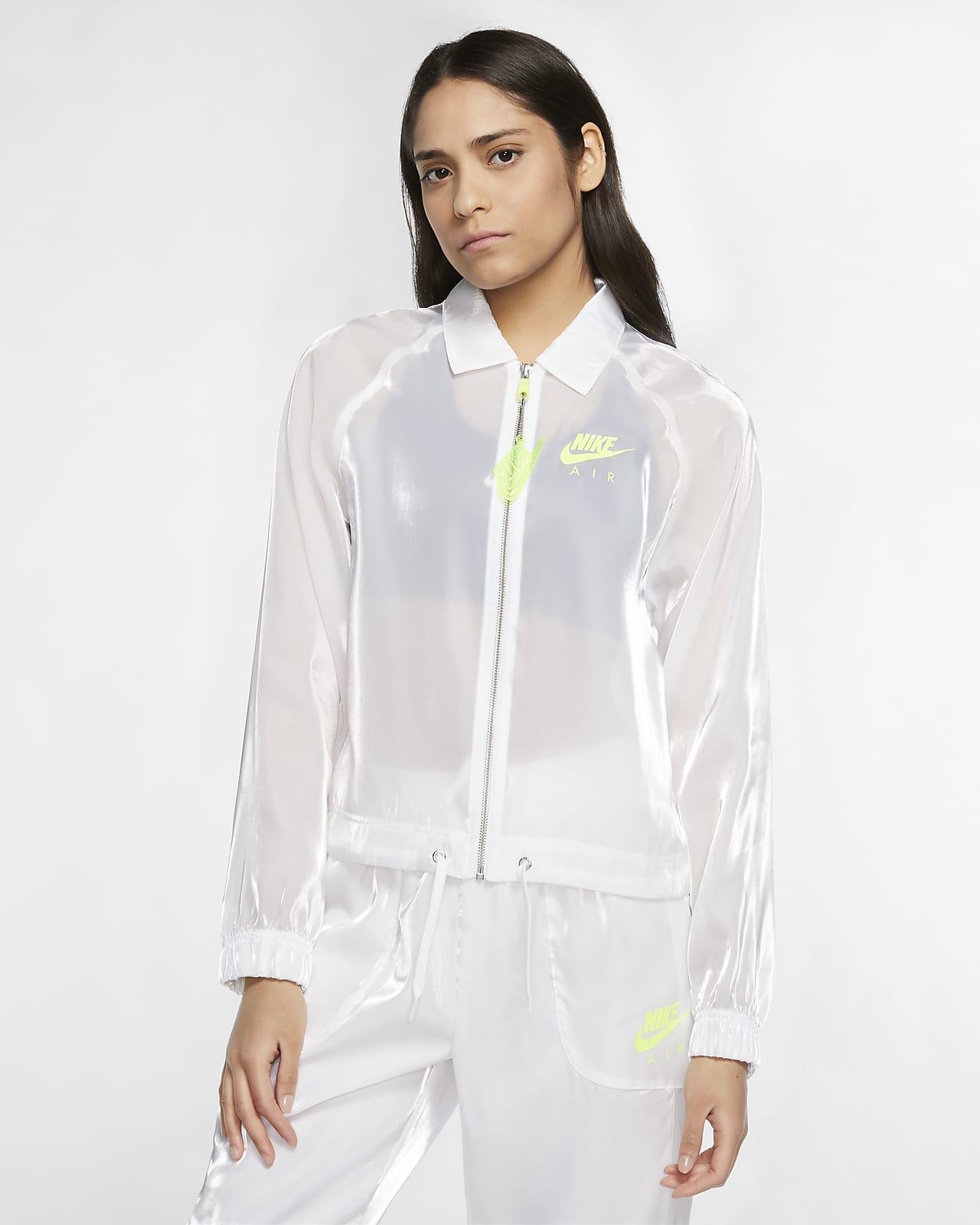 Chamarra de entrenador para mujer Nike Air