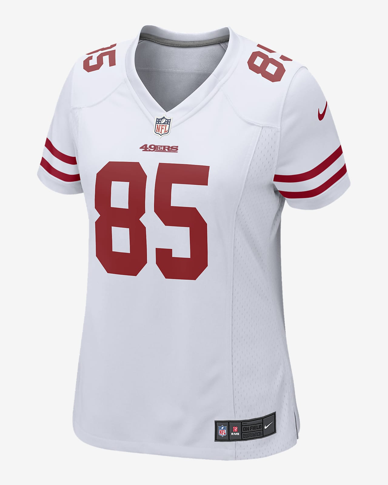NFL San Francisco 49ers (George Kittle) Women's Game Football Jersey