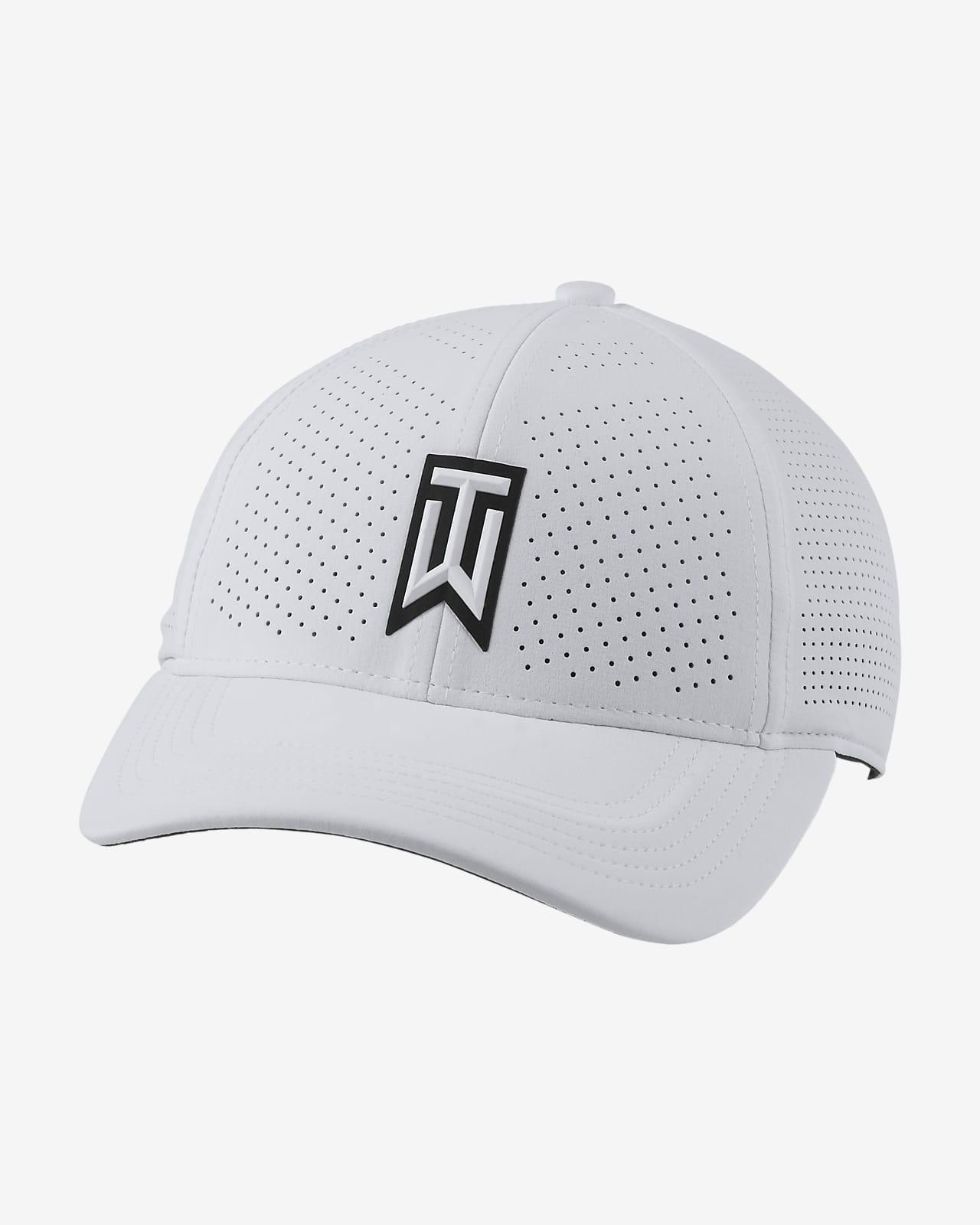 Бейсболка для гольфа с перфорацией Nike AeroBill Tiger Woods Heritage86