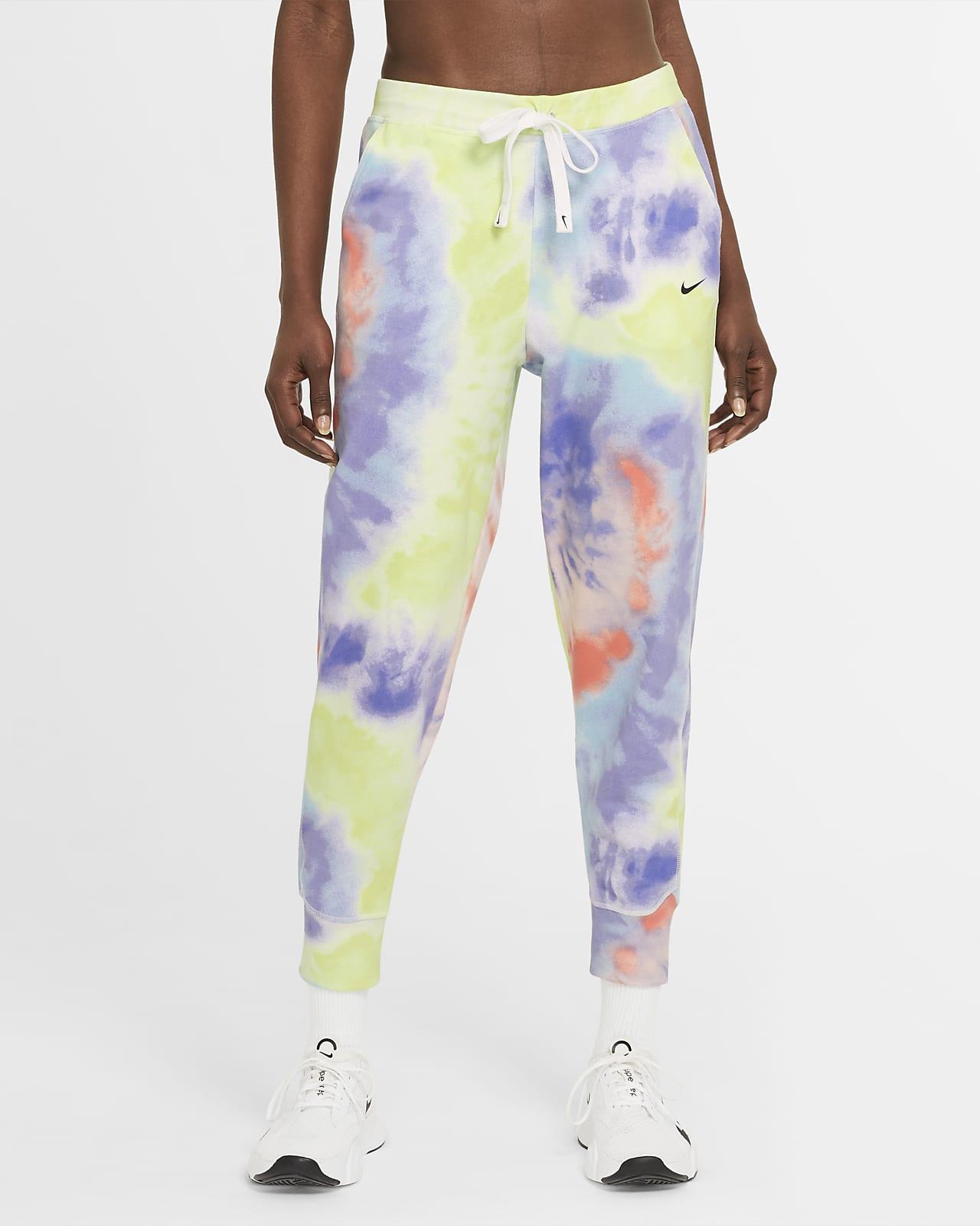 Pantalones de entrenamiento teñidos de 7/8 para mujer Nike Dri-FIT Get Fit