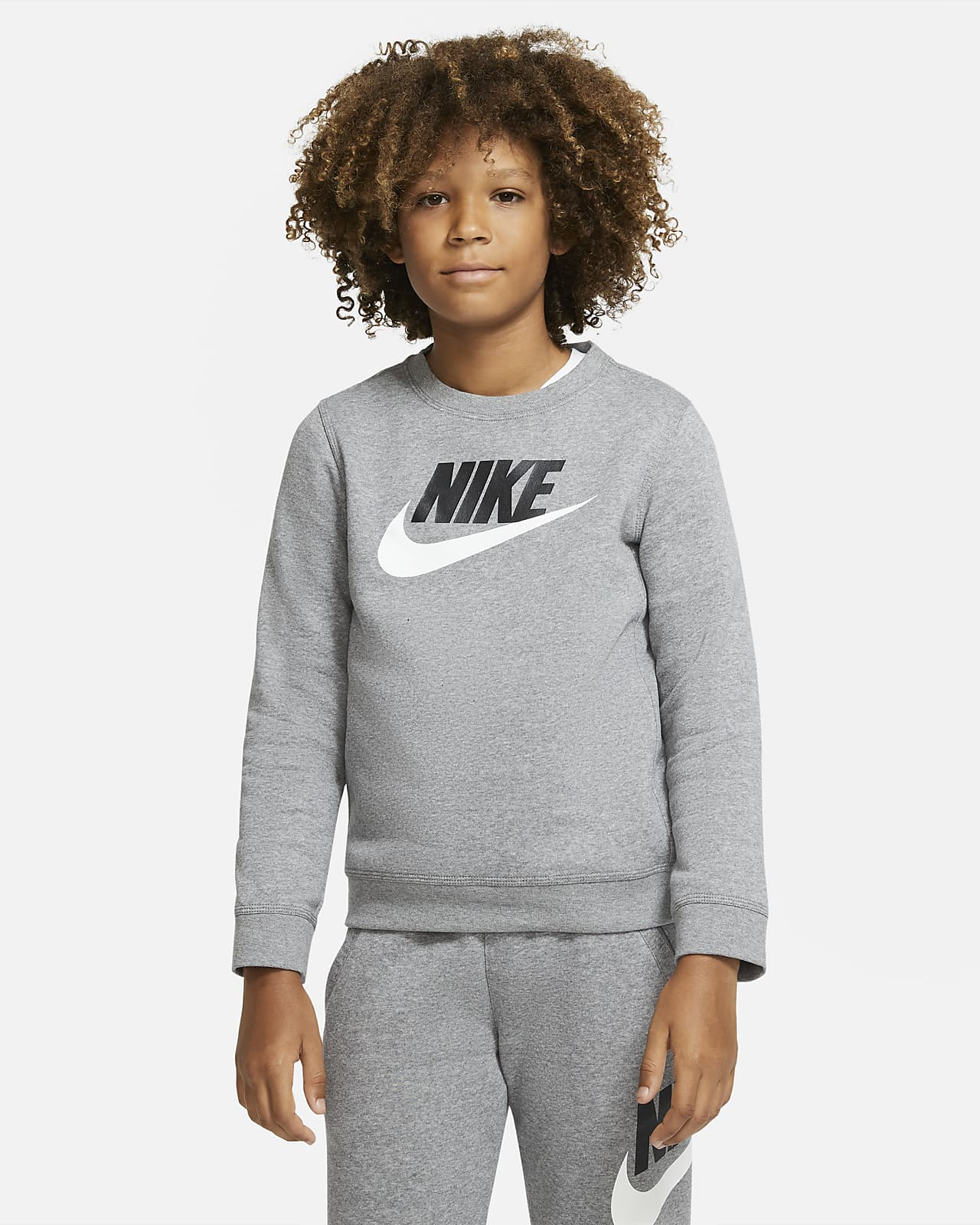 Maglia a girocollo Nike Sportswear Club Fleece - Ragazzo