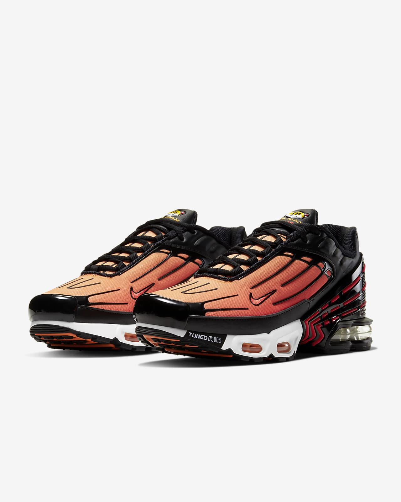 air max plus 3 orange