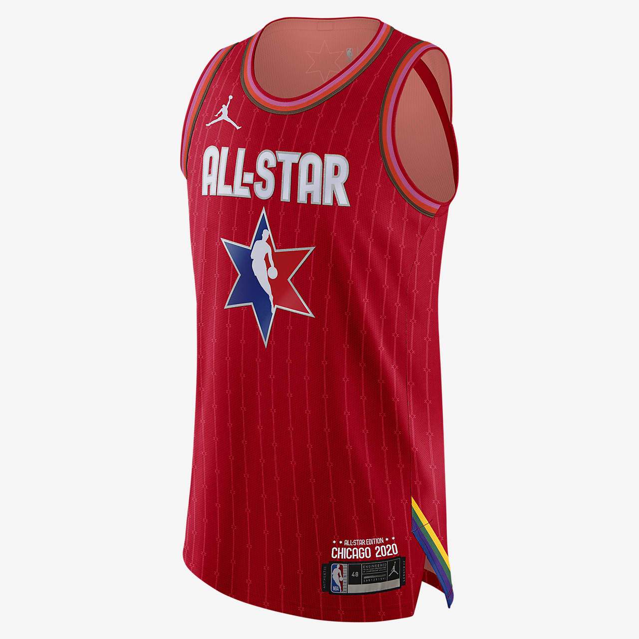 LeBron James All-Star Jordan NBA Authentic Jersey 男子球衣