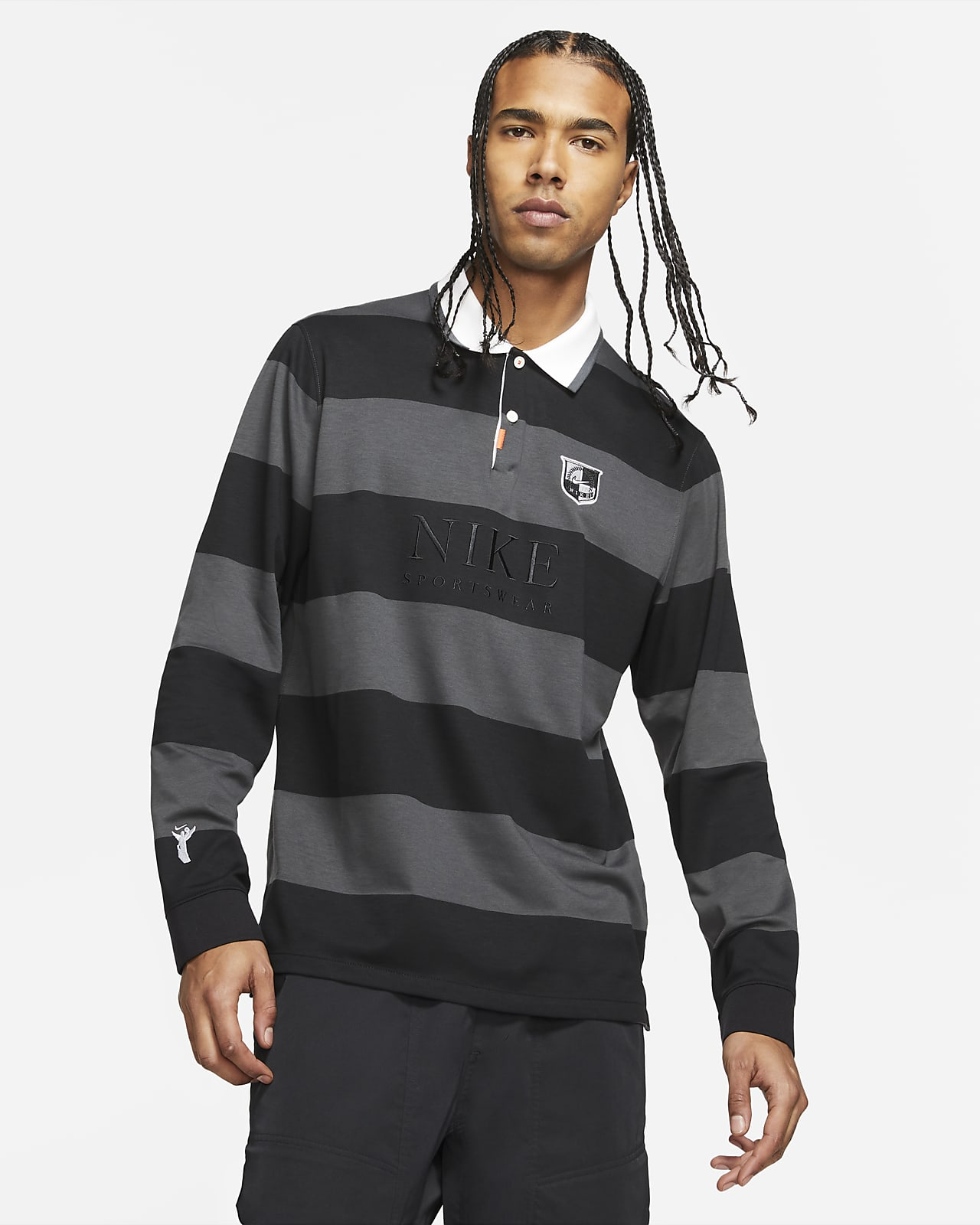 Nike Sportswear Men's Long-Sleeve Polo
