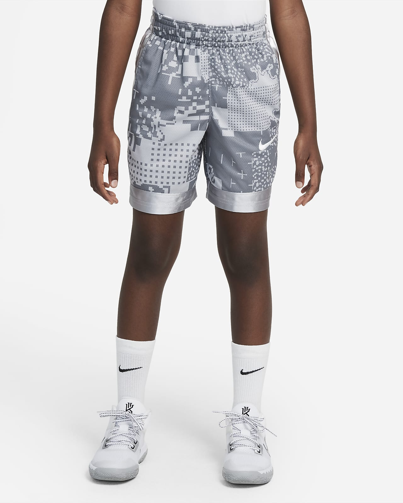 Nike Dri-FIT Elite Super Big Kids' (Boys') Printed Basketball Shorts