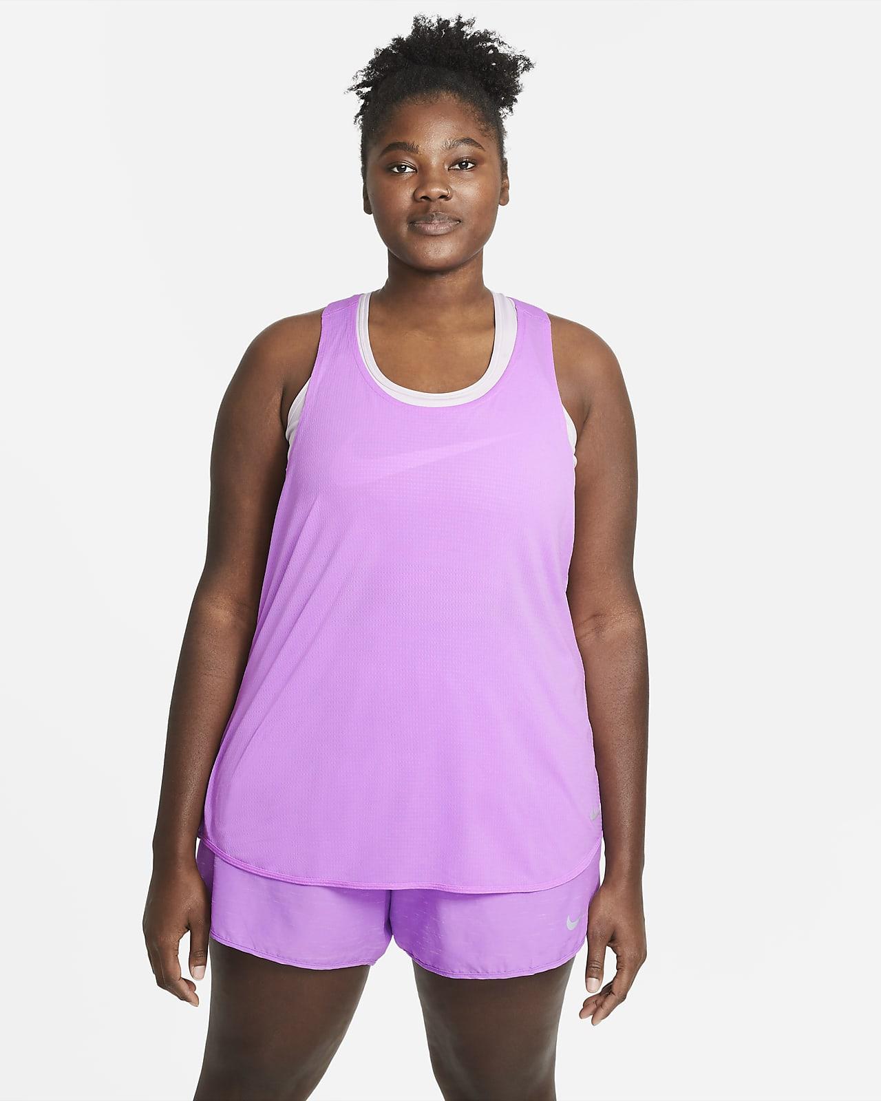 Débardeur de running Nike Breathe Cool pour Femme (grande taille)