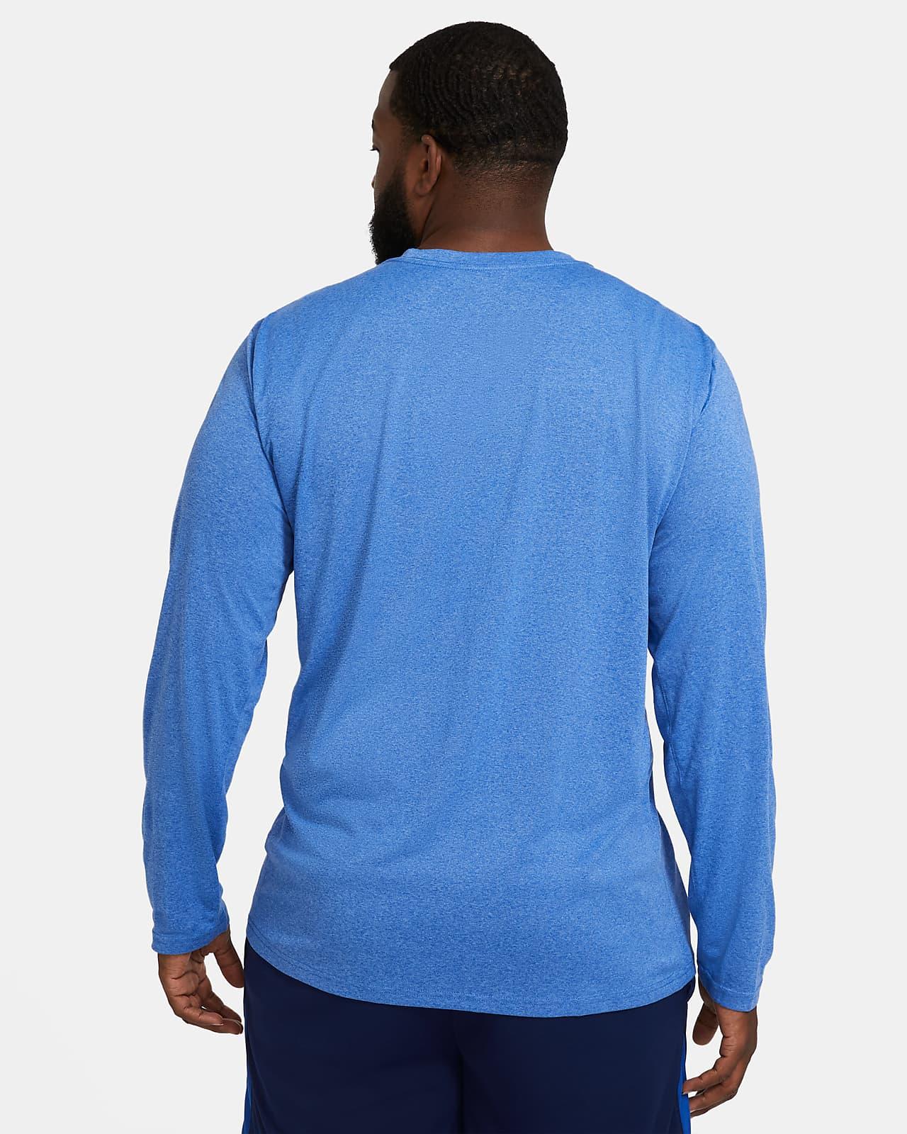 NIKE INFANT BOY/'S DRI-FIT TOP LONG SLEEVED TEE T-SHIRT BLUE 2 YRS  RRP £22