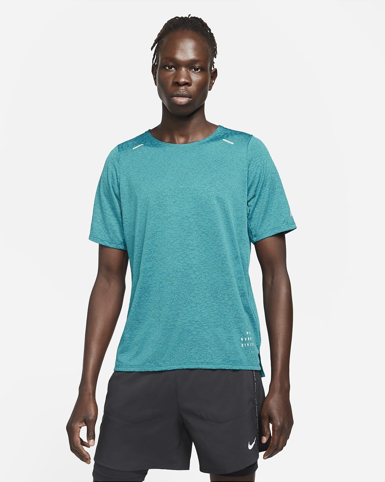 Camiseta de running de manga corta para hombre Nike Rise 365 Run Division