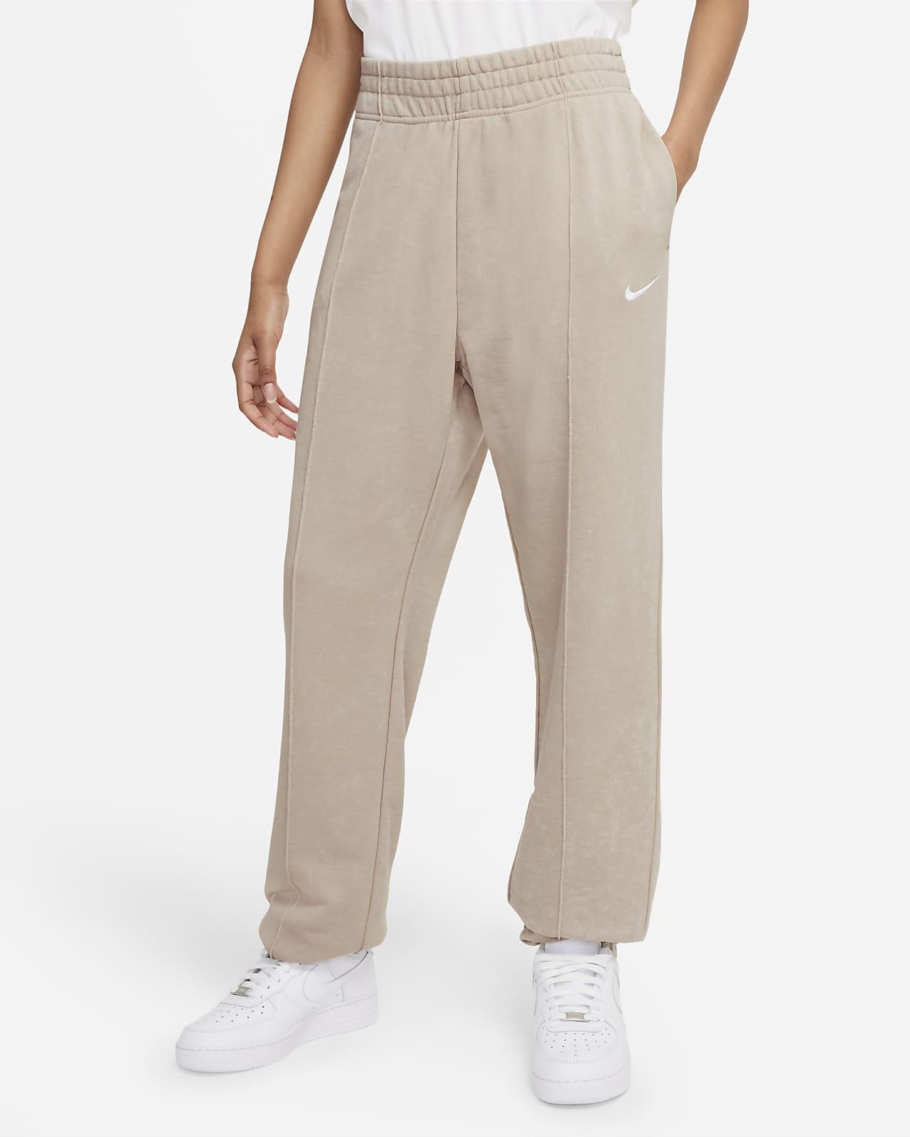 Nike Sportswear Essential Collection Yıkanmış Fleece Kadın Eşofman Altı