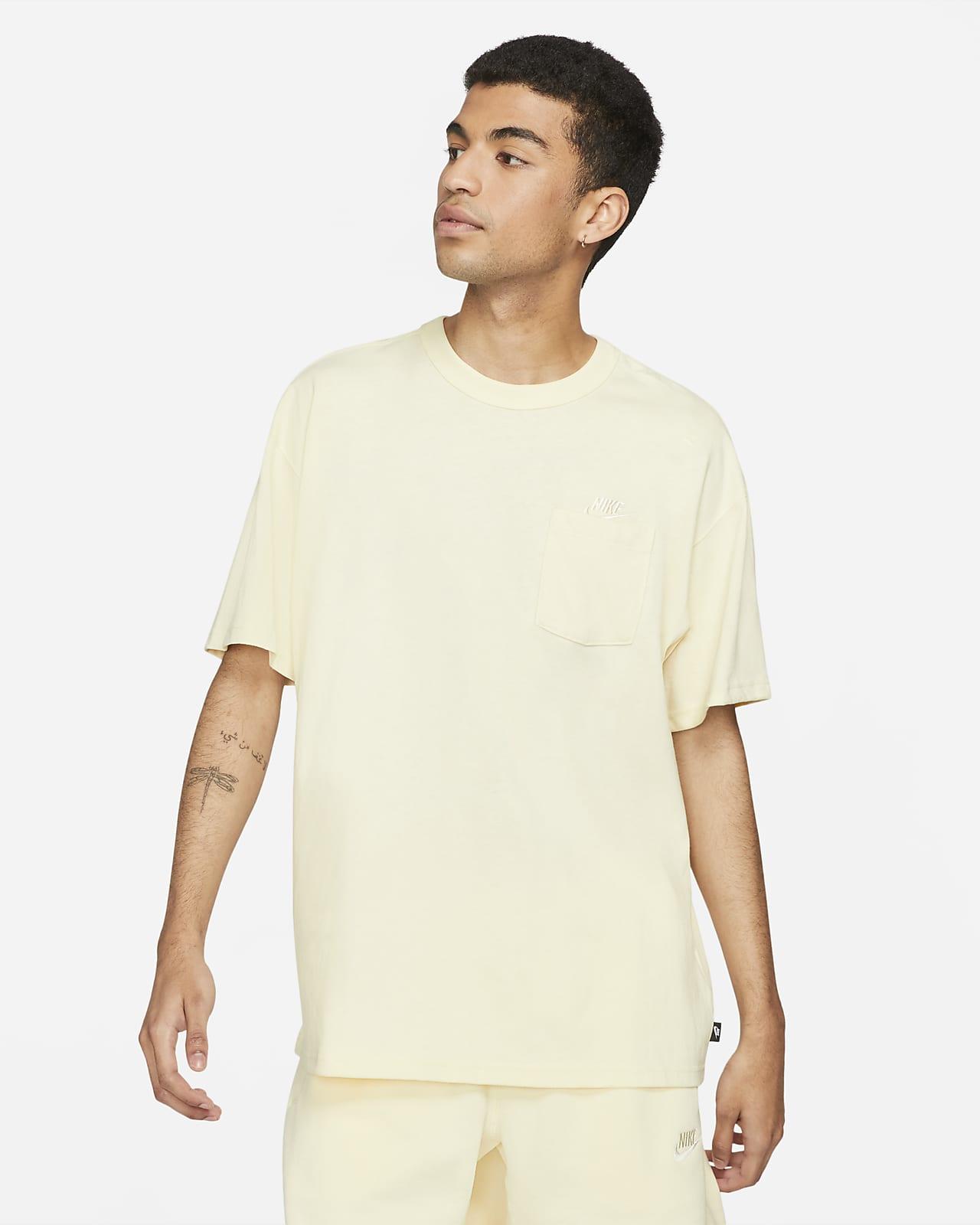 Męski T-shirt z kieszonką Nike Sportswear Premium Essentials