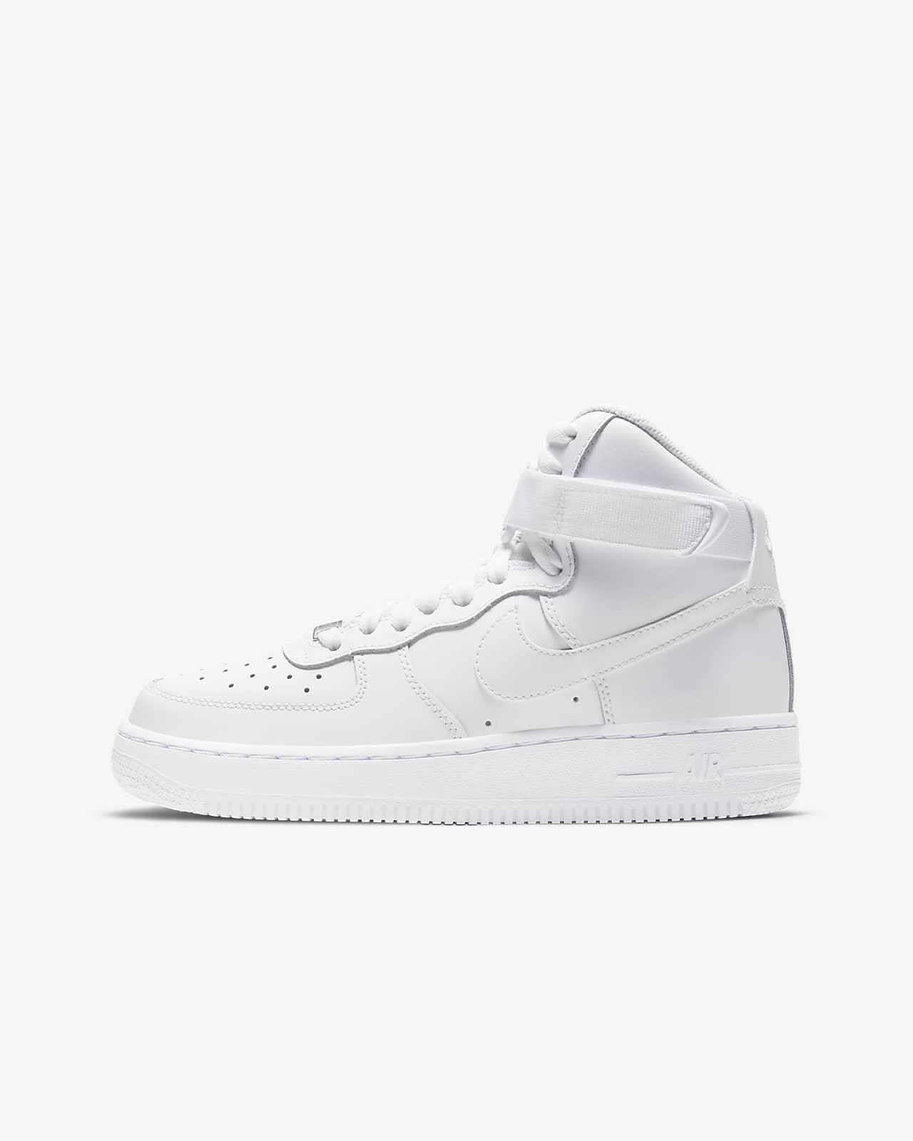 Nike Air Force 1 High LE Big Kids' Shoe