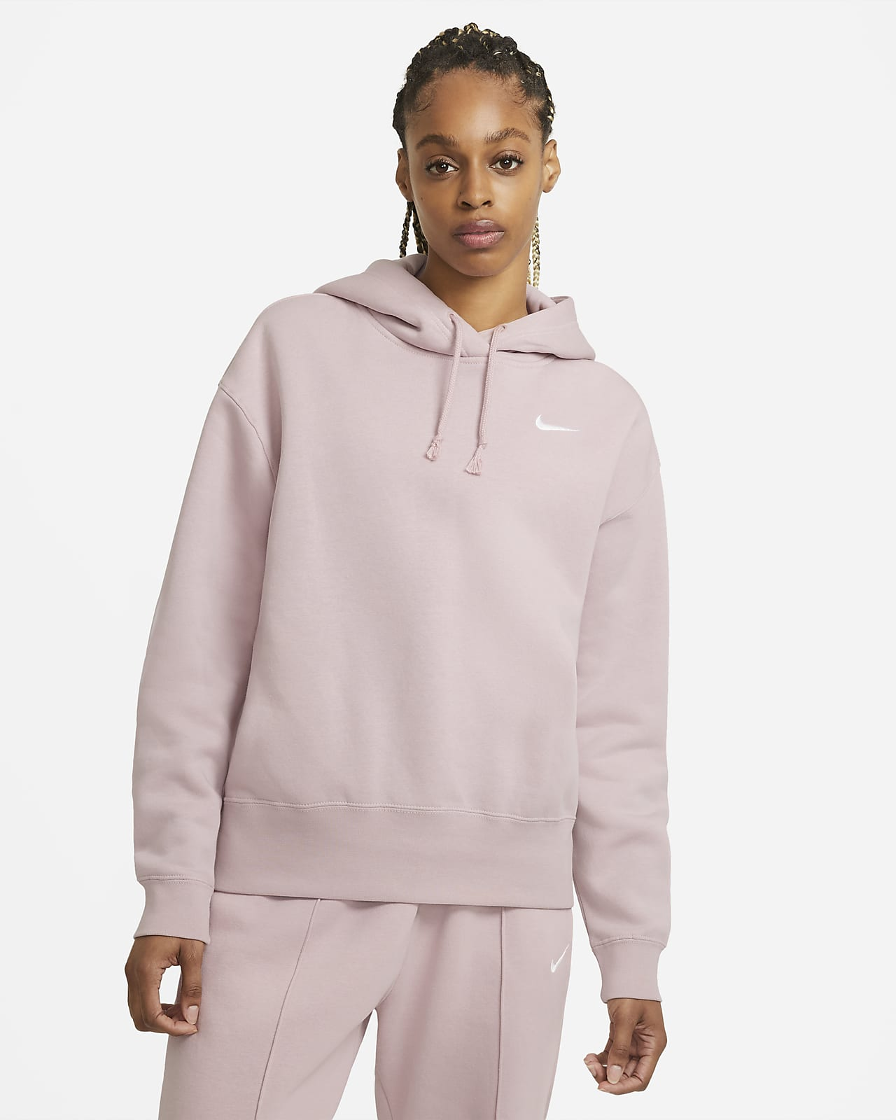 Dámská flísová mikina Nike Sportswear s kapucí
