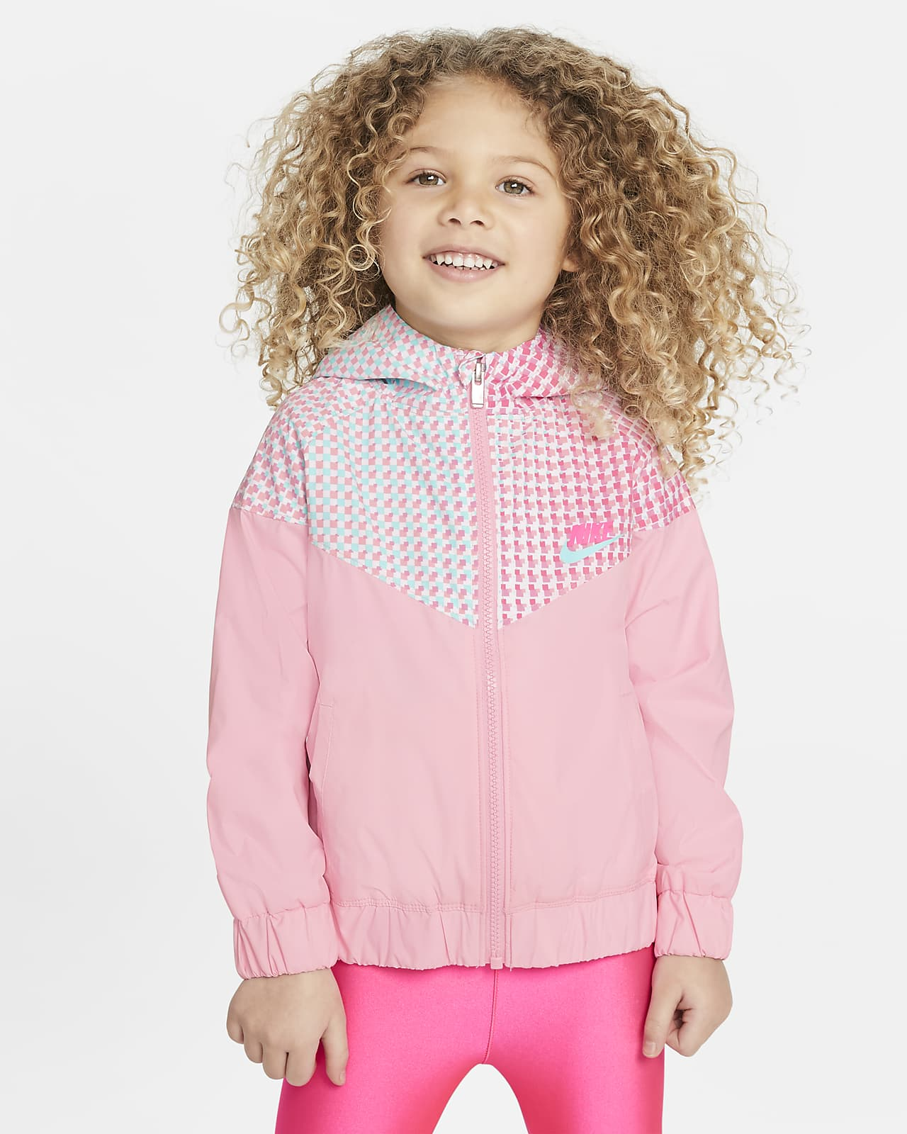 Nike Sportswear Windrunner Toddler Printed Full-Zip Jacket