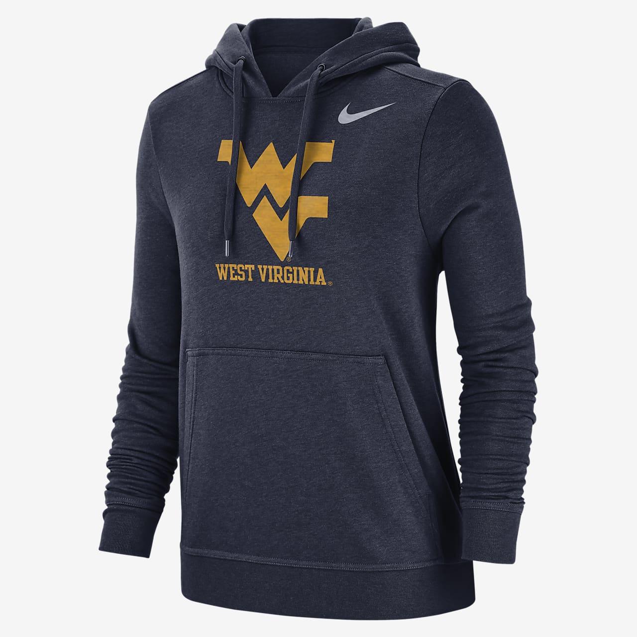 Nike College Club Fleece (West Virginia) Women's Pullover Hoodie
