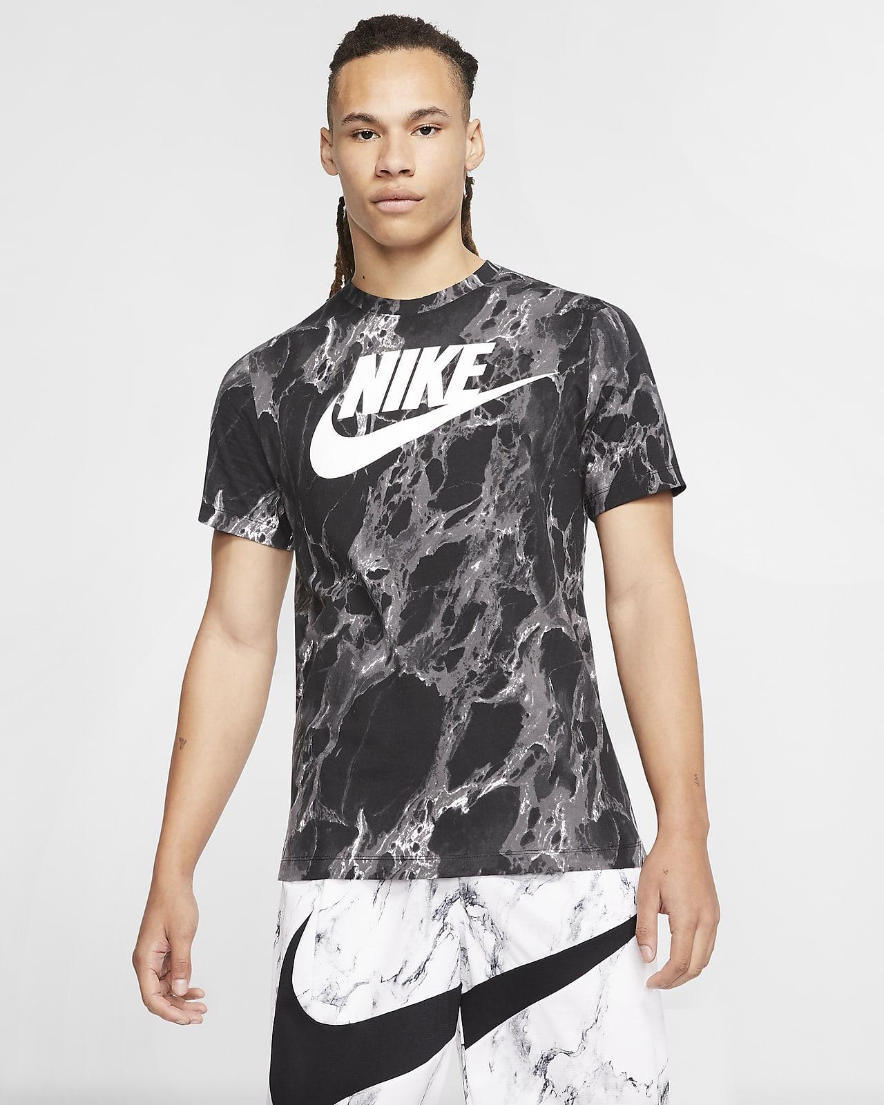 Basket-t-shirt Nike Swoosh för män