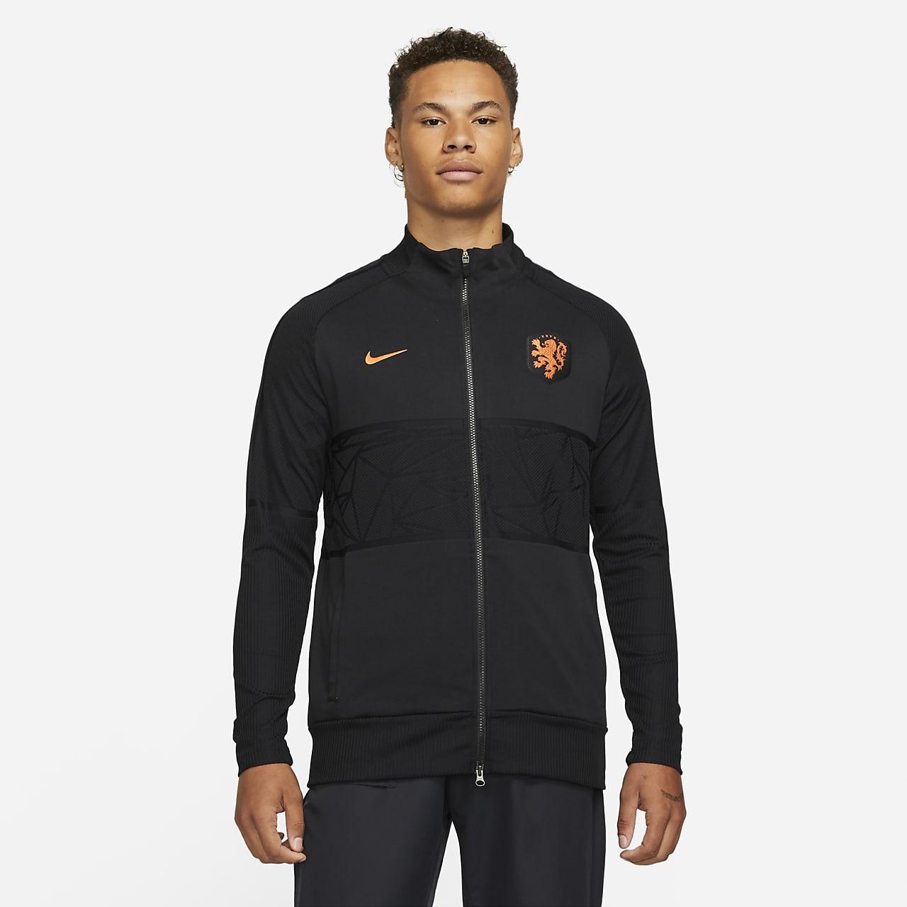 Netherlands Strike Men's Football Jacket