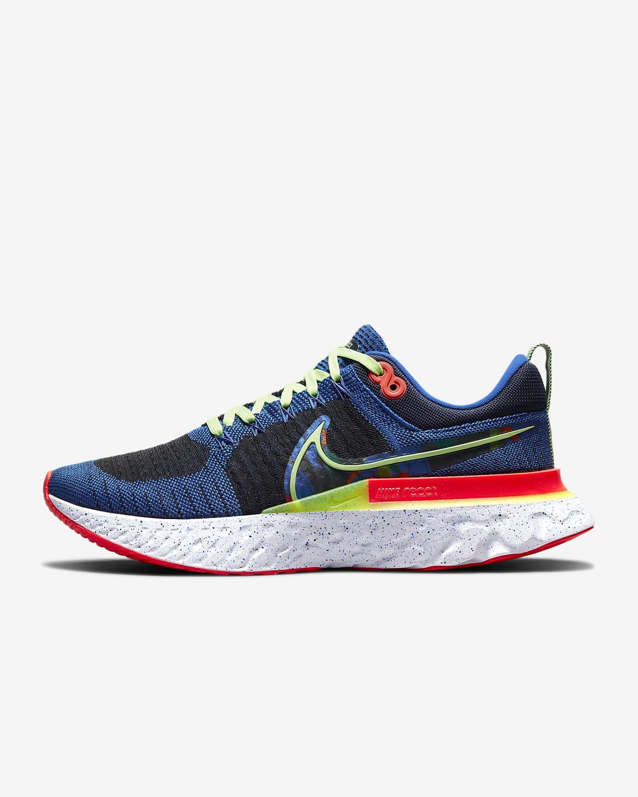 Nike React Infinity Run Flyknit 2 A.I.R.Kelly Anna London løpesko for vei til herre