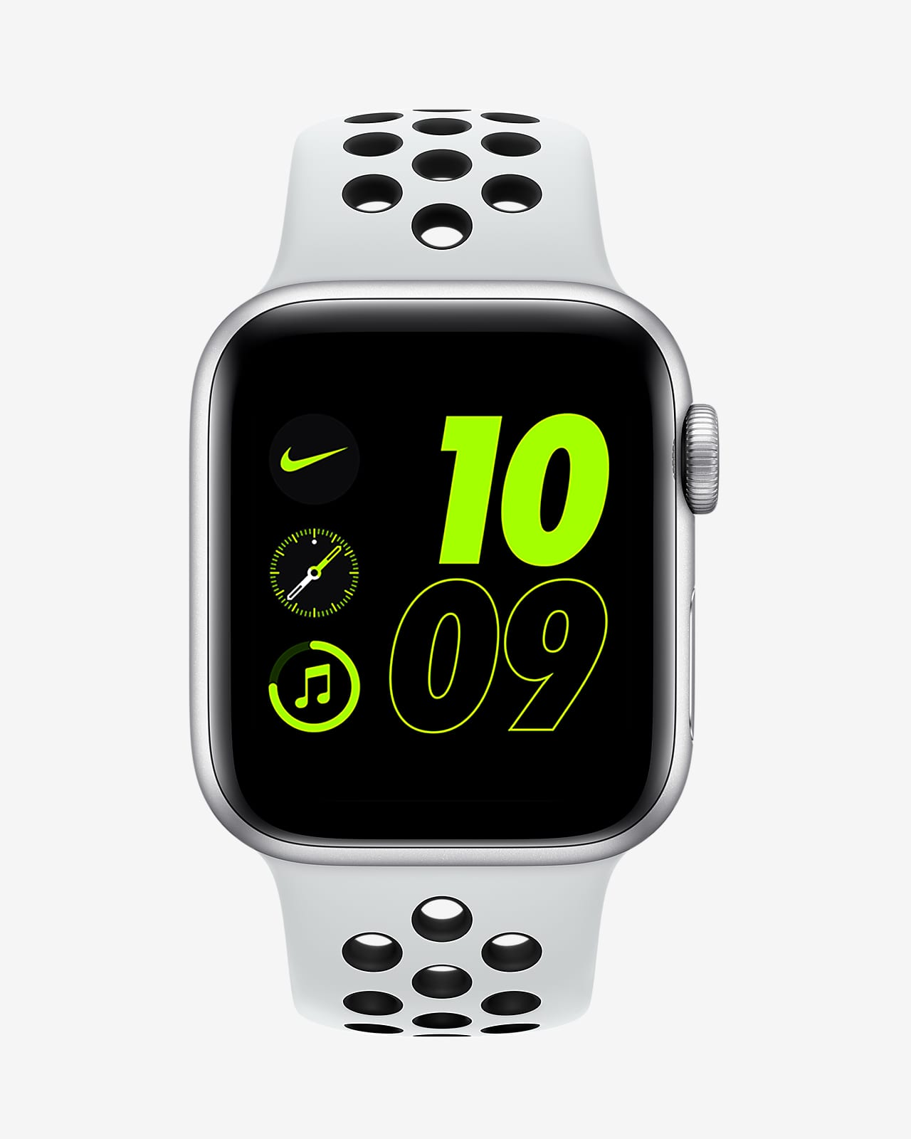 Apple Watch Nike Se Gps Con Correa Deportiva Nike Caja De Aluminio Color Plata De 40 Mm Nike Com