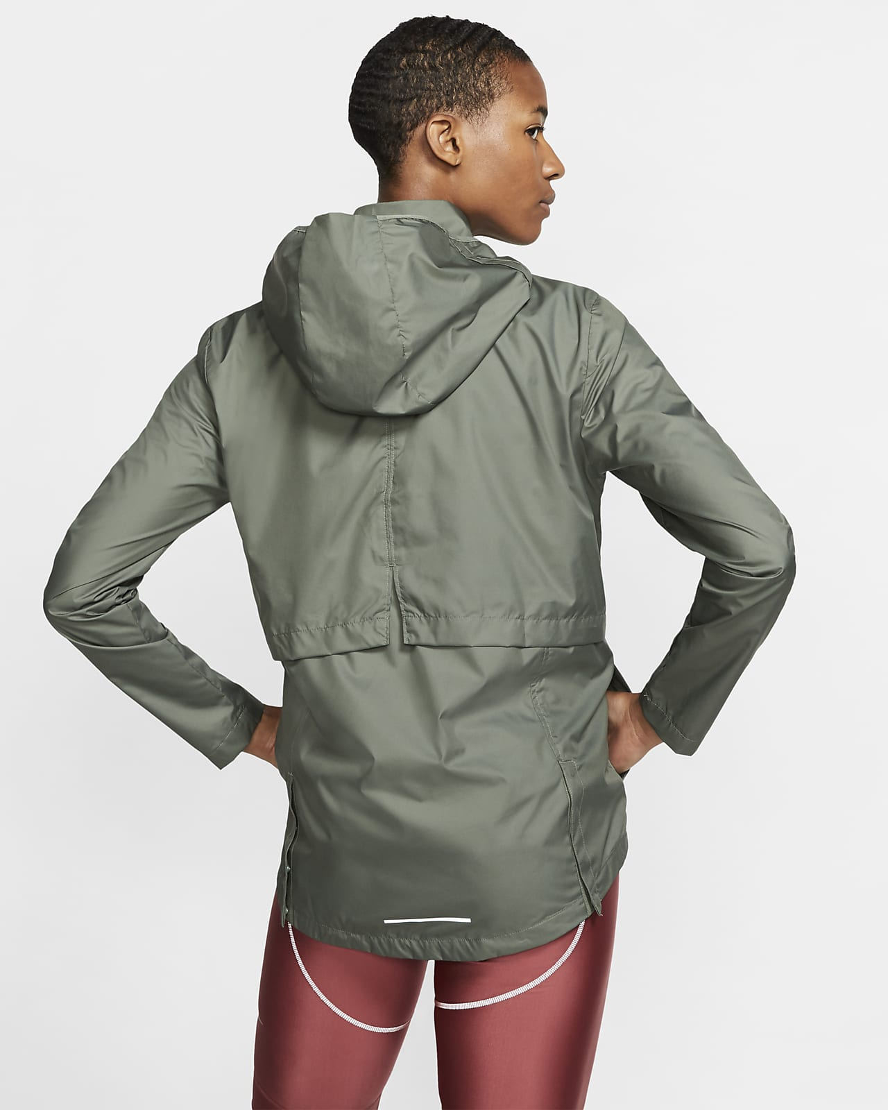 Packable Running Rain Jacket. Nike